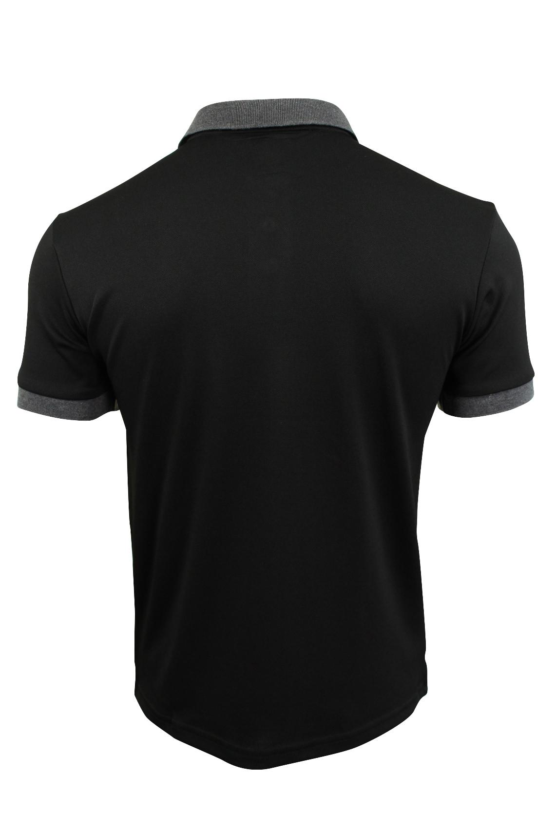 Mens-Polo-T-Shirt-by-D-Rock-Short-Sleeved thumbnail 5
