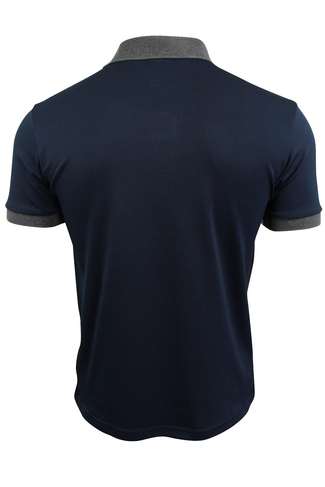 Mens-Polo-T-Shirt-by-D-Rock-Short-Sleeved thumbnail 8