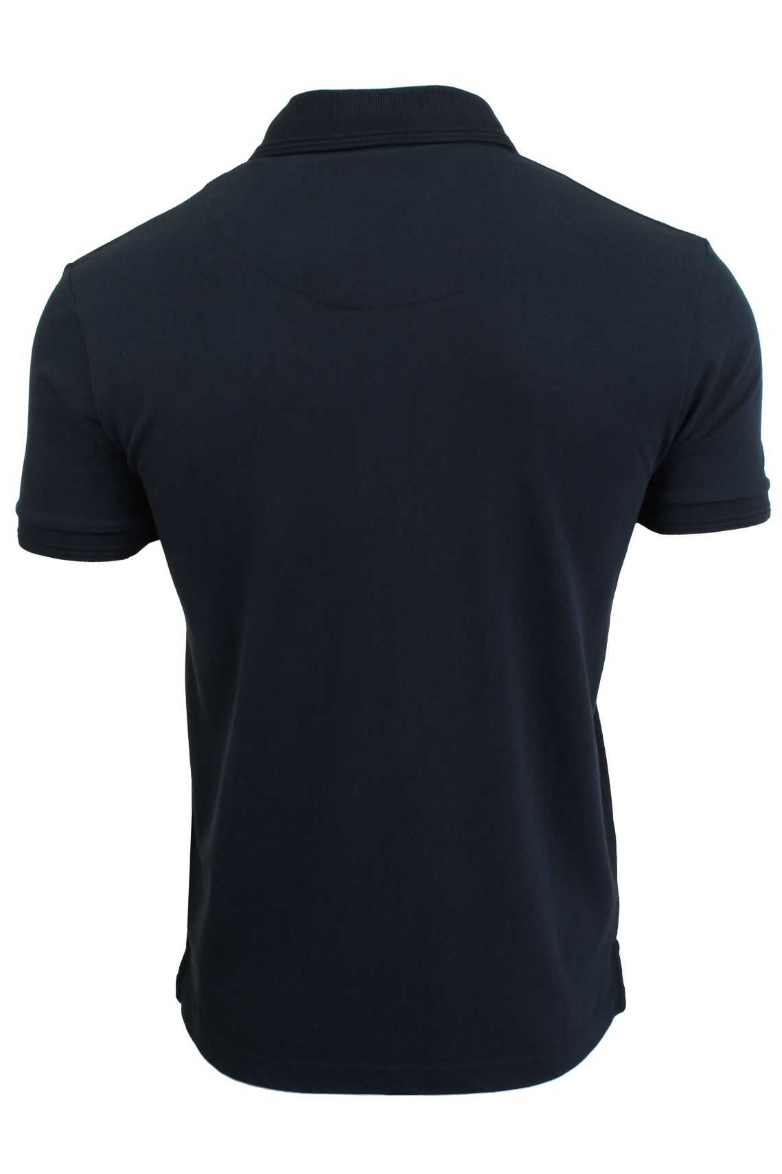 Mens-Short-Sleeved-Polo-Shirt-from-the-Blackout-Collection-by-Voi-Jeans thumbnail 10