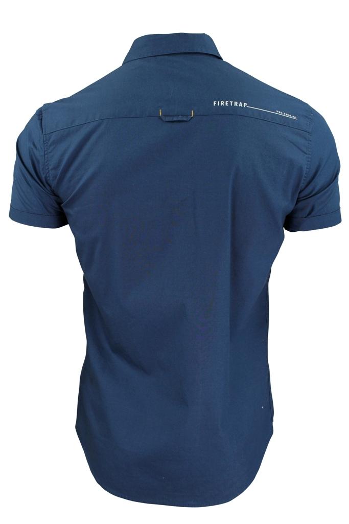 Mens-Short-Sleeved-Shirt-by-Firetrap thumbnail 10