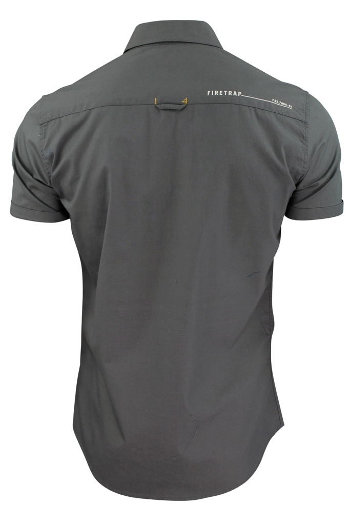 Mens-Short-Sleeved-Shirt-by-Firetrap thumbnail 13
