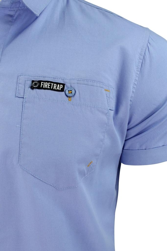 Mens-Short-Sleeved-Shirt-by-Firetrap thumbnail 8