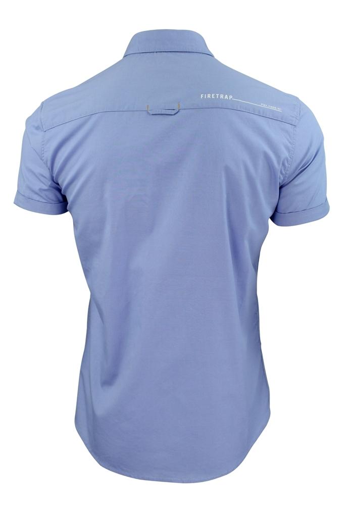 Mens-Short-Sleeved-Shirt-by-Firetrap thumbnail 7