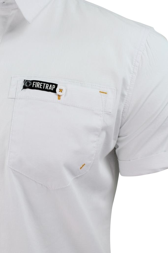 Mens-Short-Sleeved-Shirt-by-Firetrap thumbnail 17
