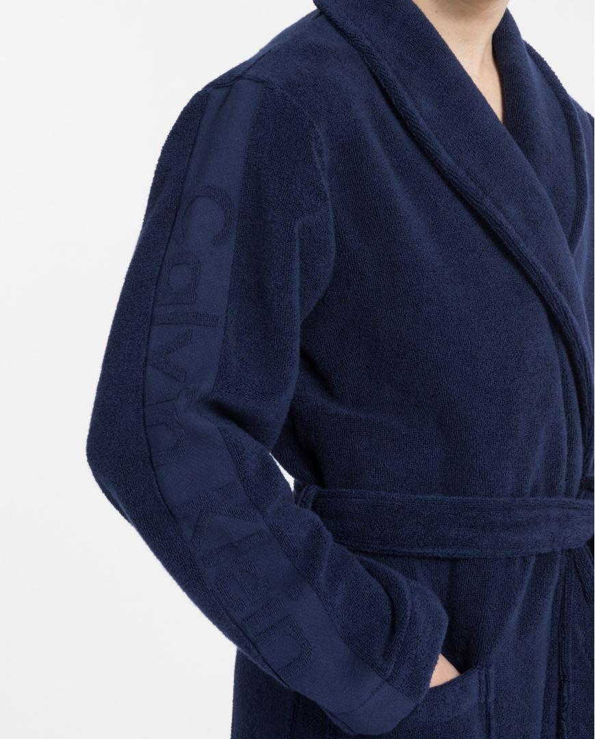 Mens Calvin Klein Terry Robe Dressing Gown Ebay