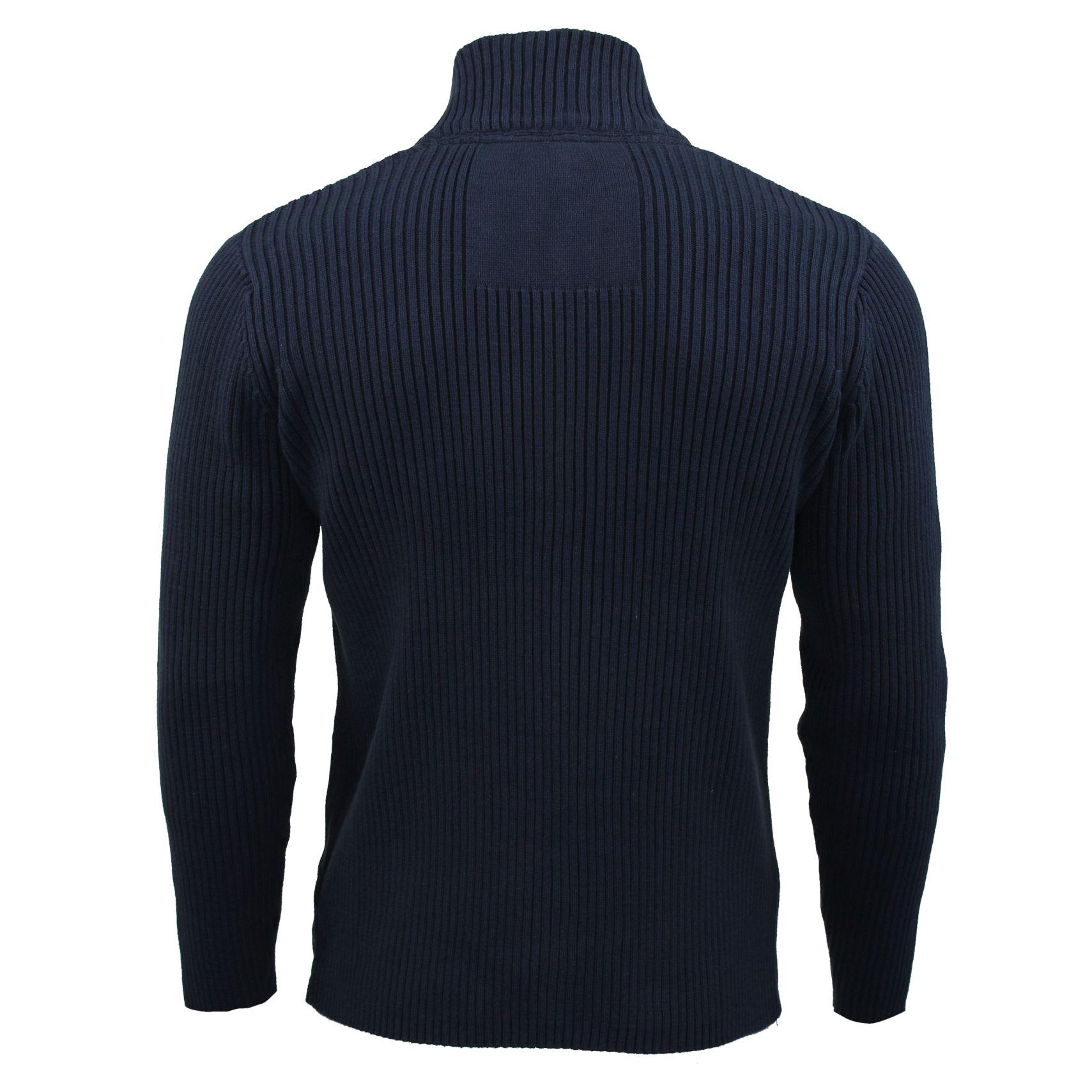 ponticello da Xact abbigliamento A Costine Maniche Lunghe Cardigan da Uomo