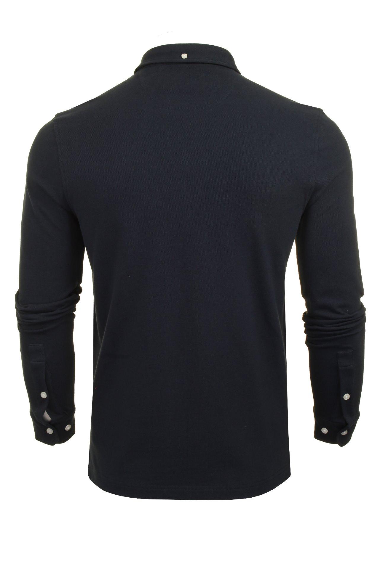 Farah-Mens-Polo-T-Shirt-039-Ricky-Polo-039-Long-Sleeved thumbnail 8