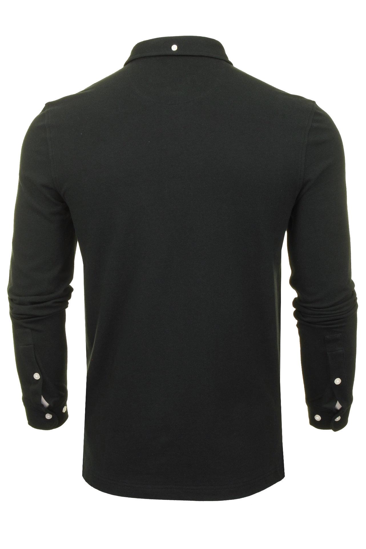 Farah-Mens-Polo-T-Shirt-039-Ricky-Polo-039-Long-Sleeved thumbnail 5