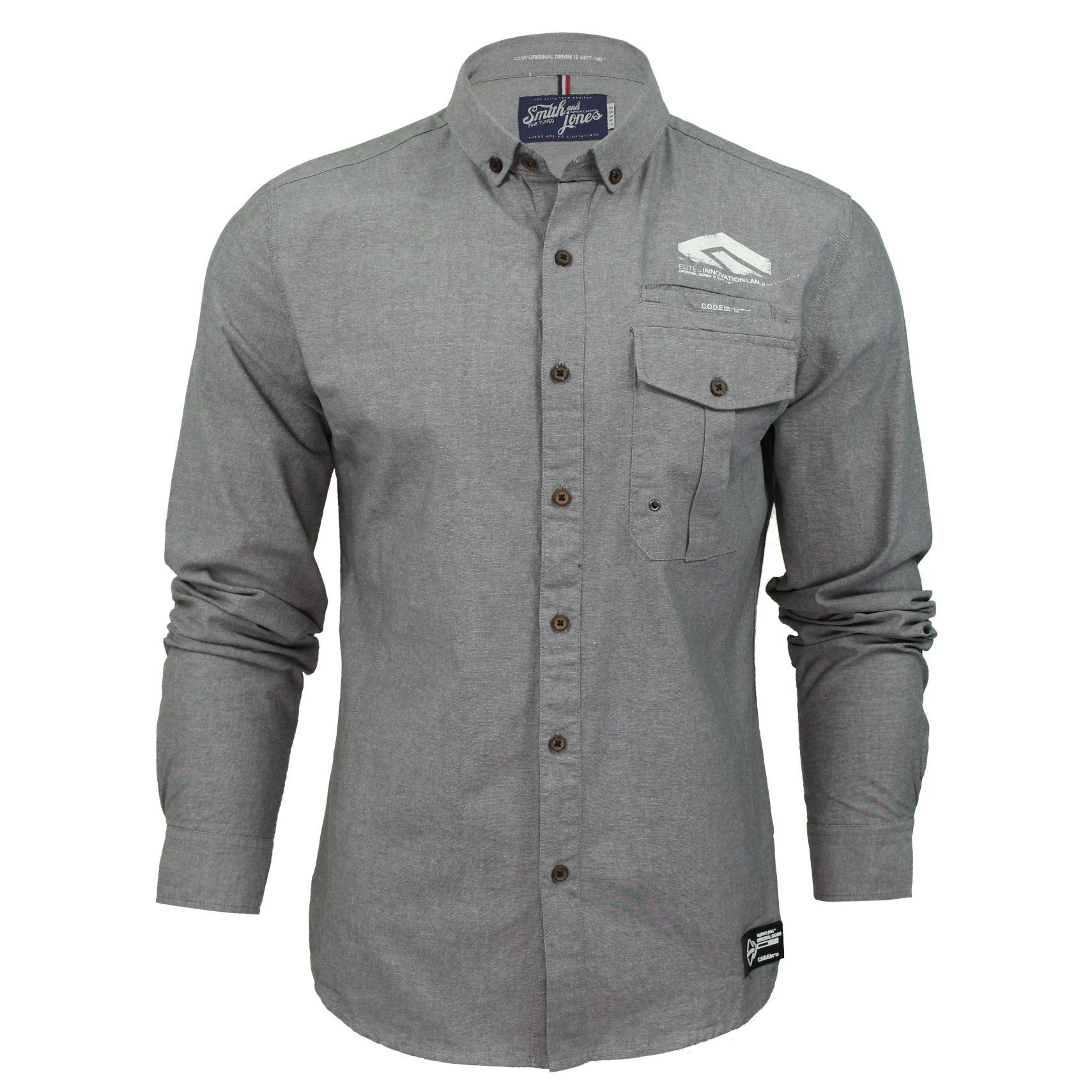 Mens shirt by smith jones 39 chadwick 39 long sleeved slim for Men s wedding dress shirts