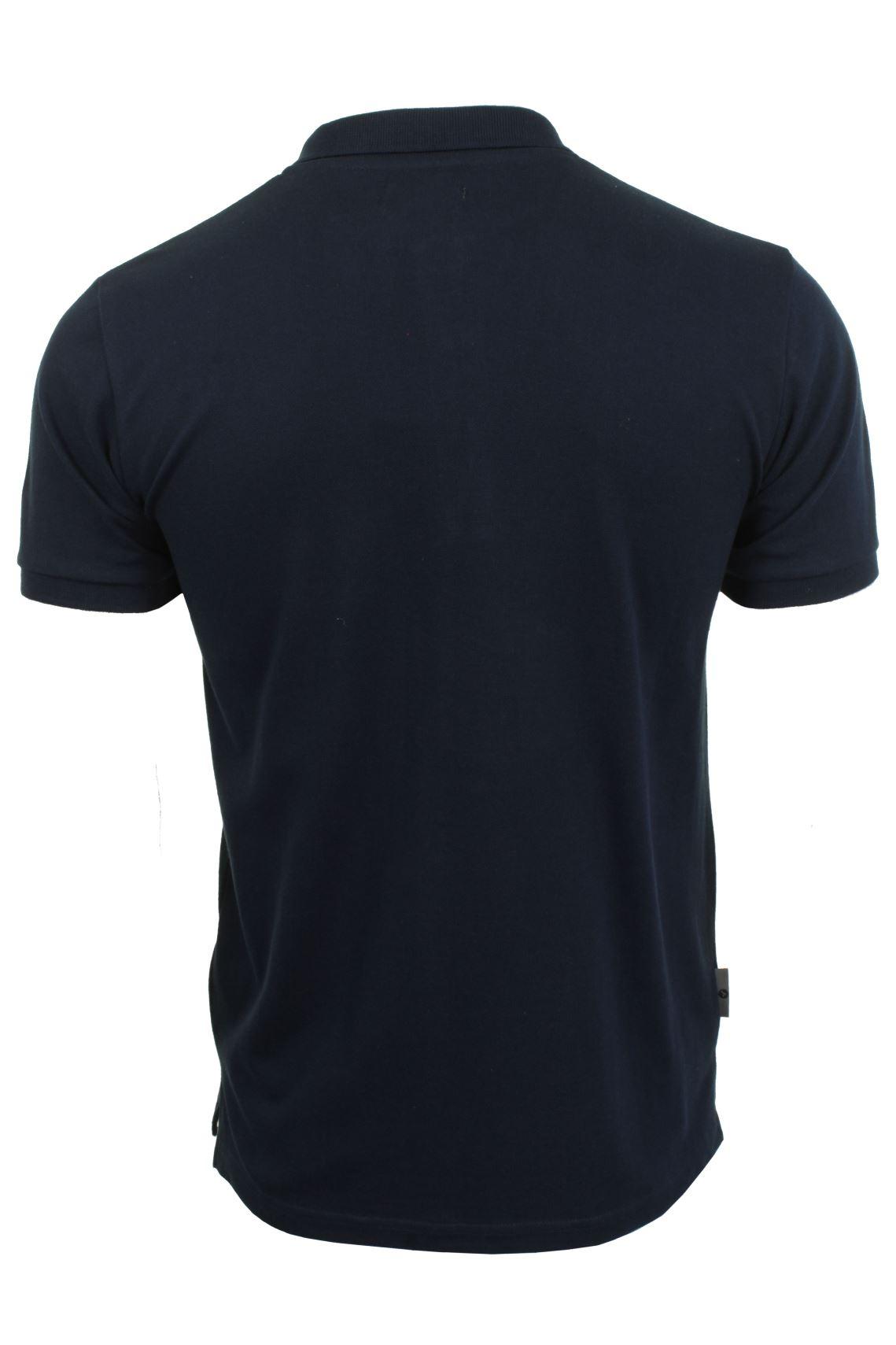 Voi-Jeans-Mens-Fashion-Polo-Shirt-Redford-Short-Sleeved thumbnail 5