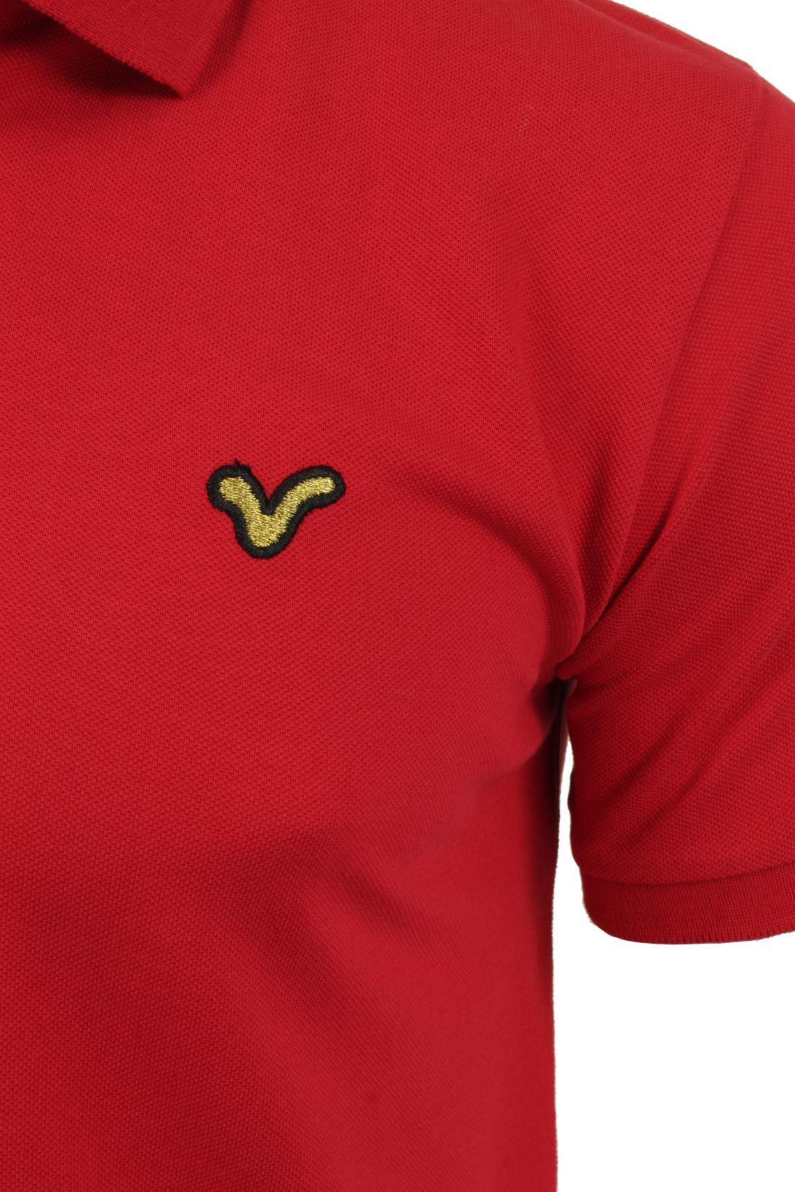 Voi-Jeans-Mens-Fashion-Polo-Shirt-Redford-Short-Sleeved thumbnail 7