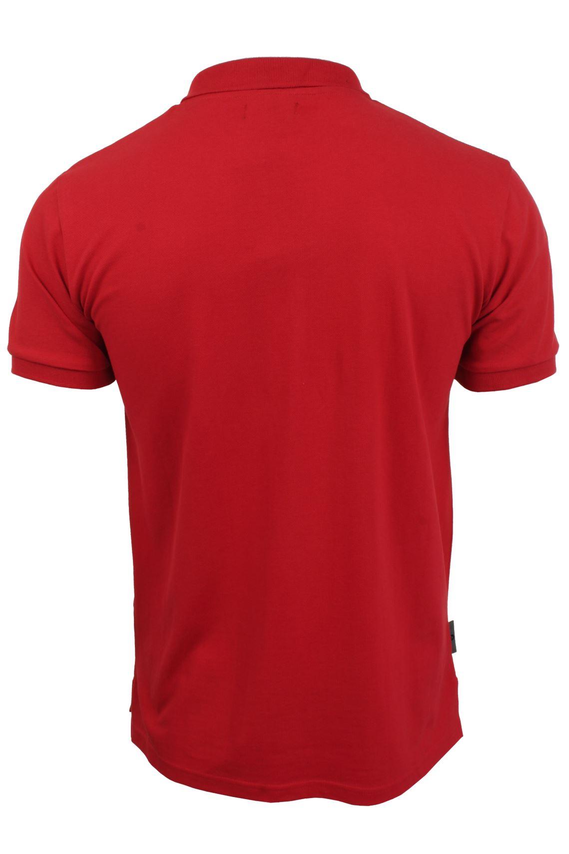 Voi-Jeans-Mens-Fashion-Polo-Shirt-Redford-Short-Sleeved thumbnail 8