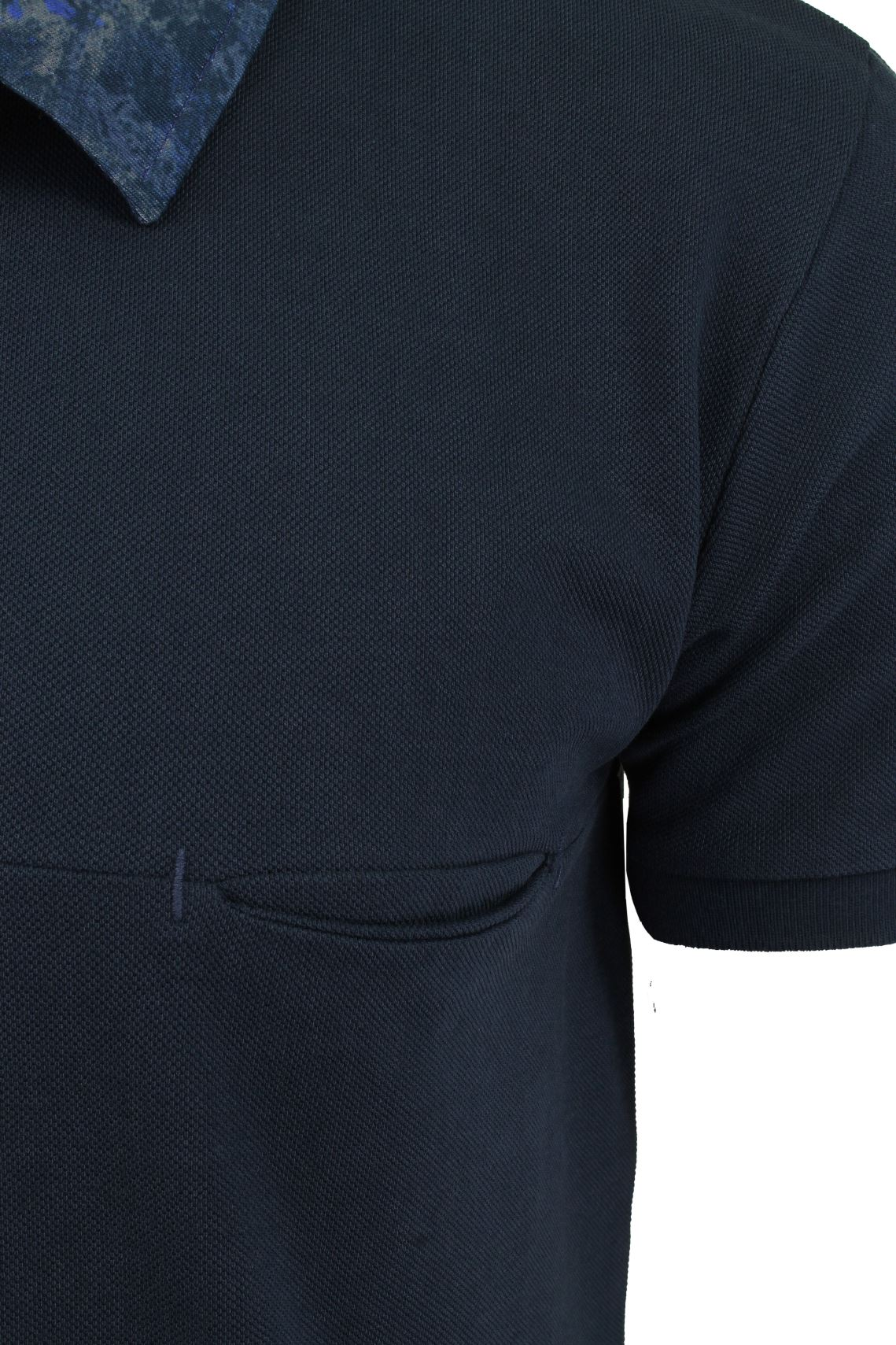 Mens-Short-Sleeved-Polo-Shirt-from-the-Blackout-Collection-by-Voi-Jeans thumbnail 12