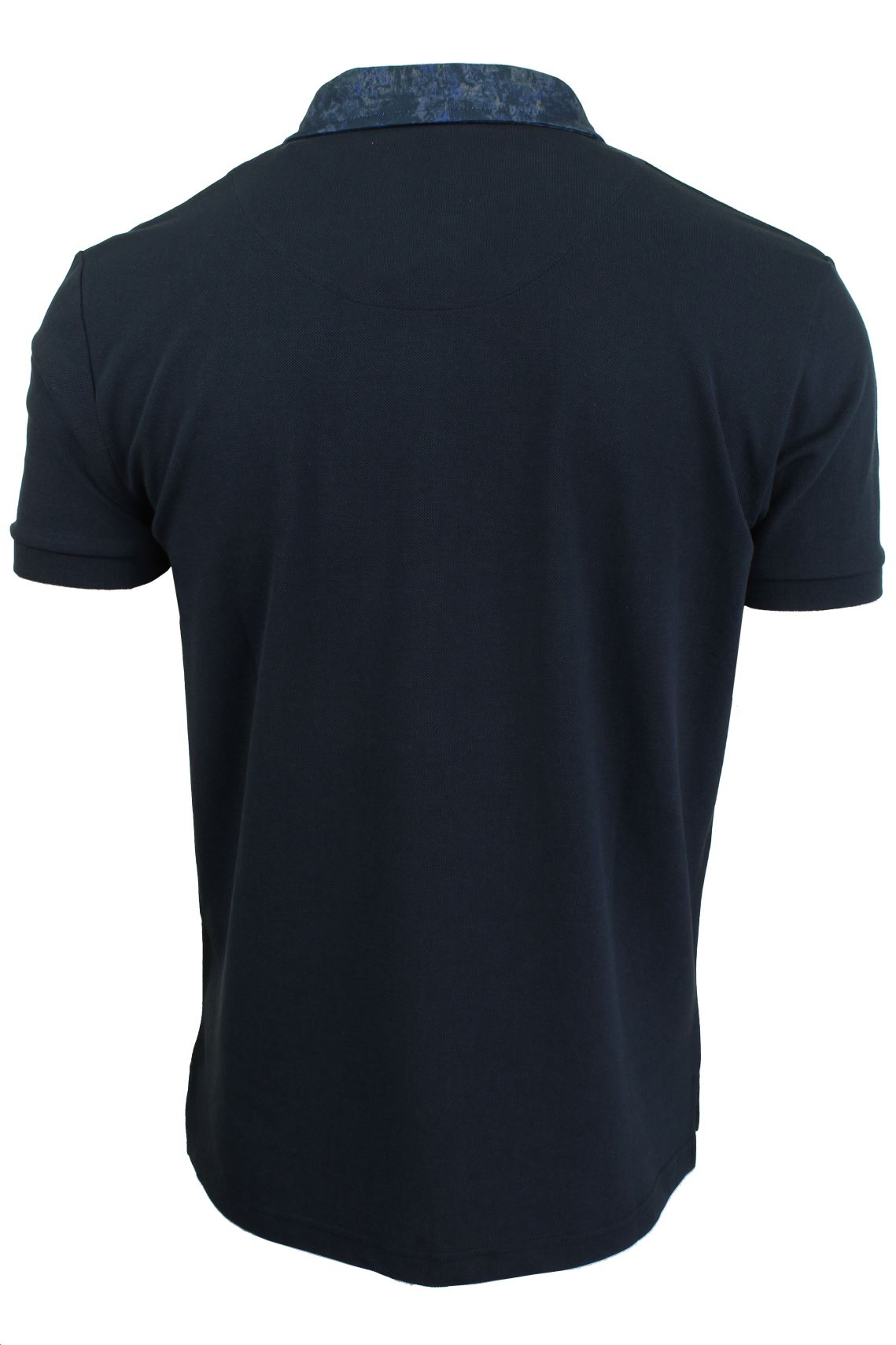 Mens-Short-Sleeved-Polo-Shirt-from-the-Blackout-Collection-by-Voi-Jeans thumbnail 13