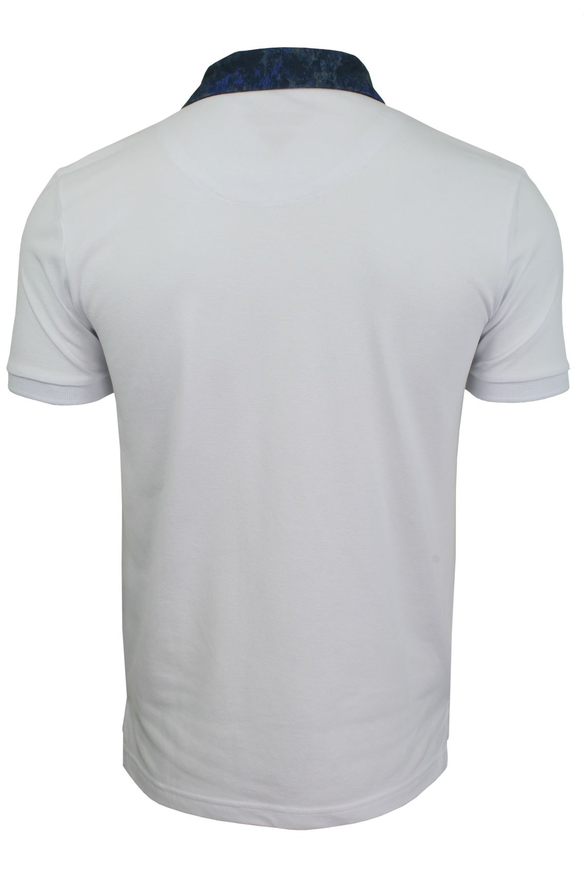 Mens-Short-Sleeved-Polo-Shirt-from-the-Blackout-Collection-by-Voi-Jeans thumbnail 16