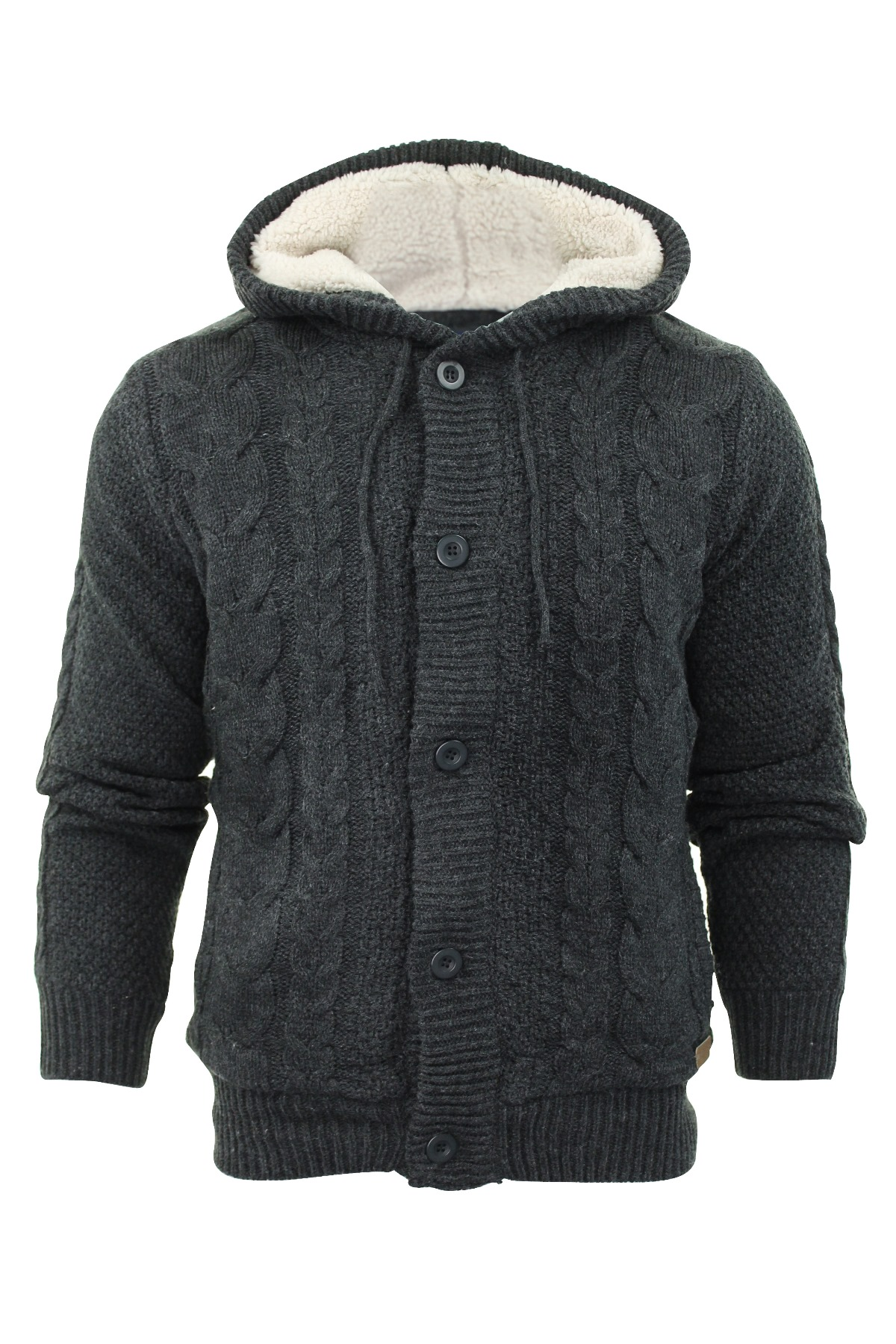 Mens cardigan hoodie