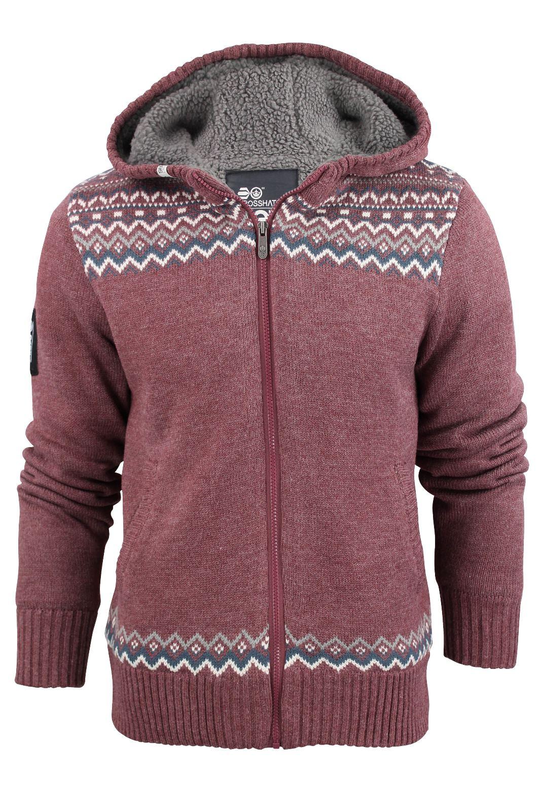 Fair isle hoodie