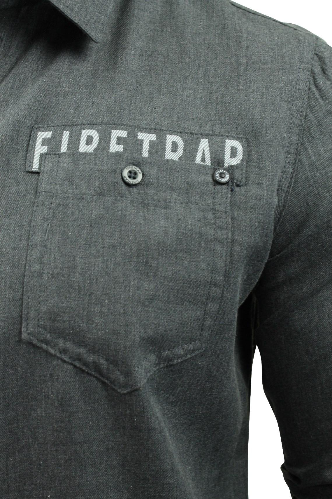Camisa-para-hombre-por-Firetrap-039-Pittson-039-Manga-Larga miniatura 10