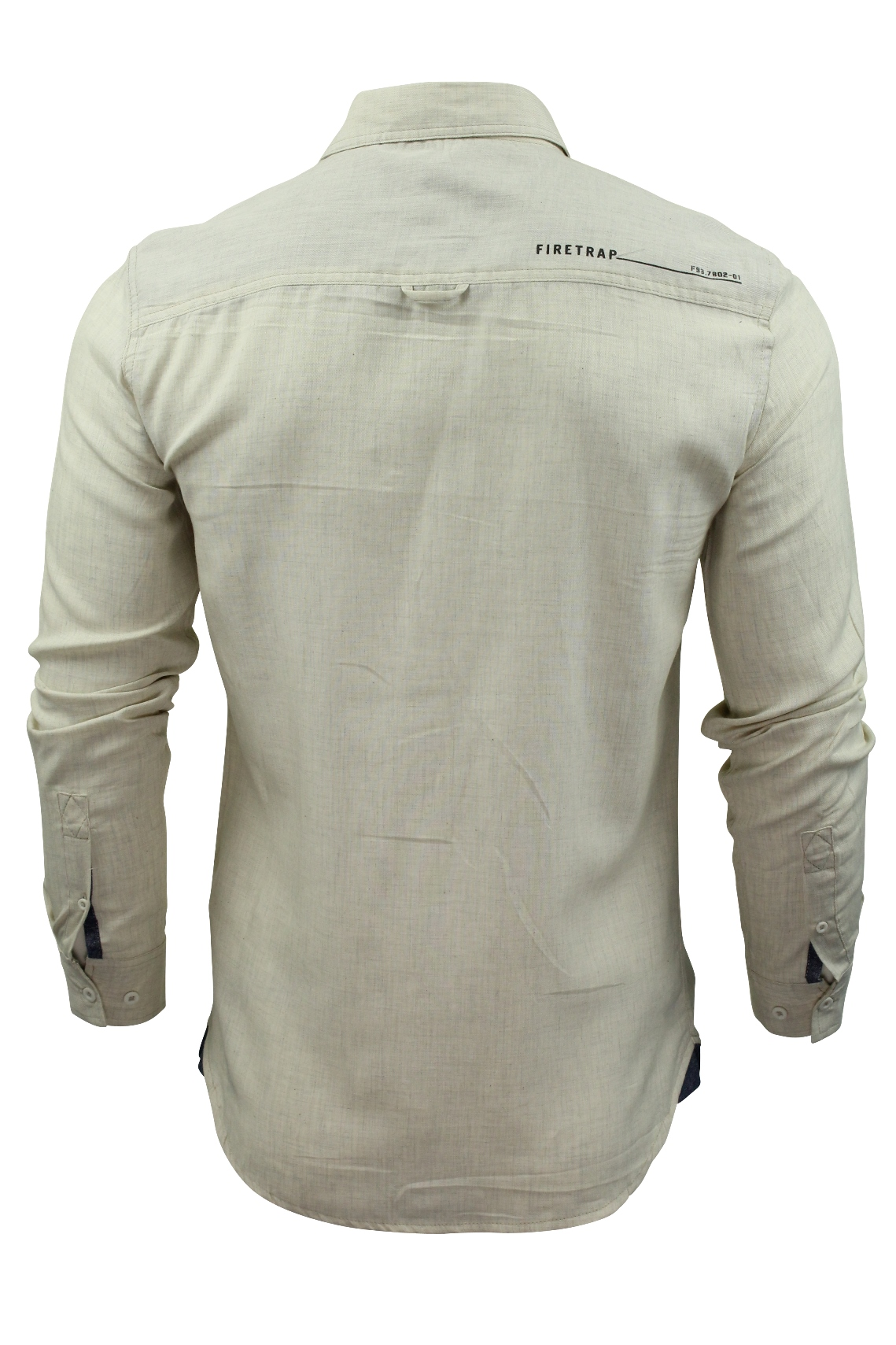 Camisa-para-hombre-por-Firetrap-039-Pittson-039-Manga-Larga miniatura 14