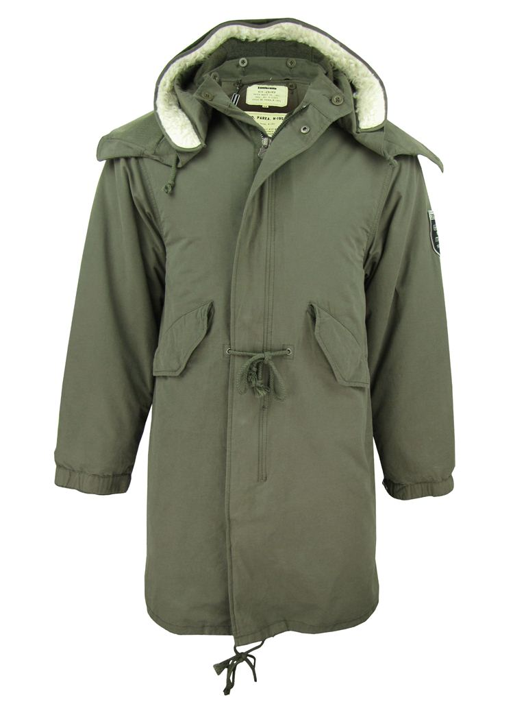 Lambretta Mod/ Retro Fish Tail Parka Jacket/ Coat Hooded M51 Style ...