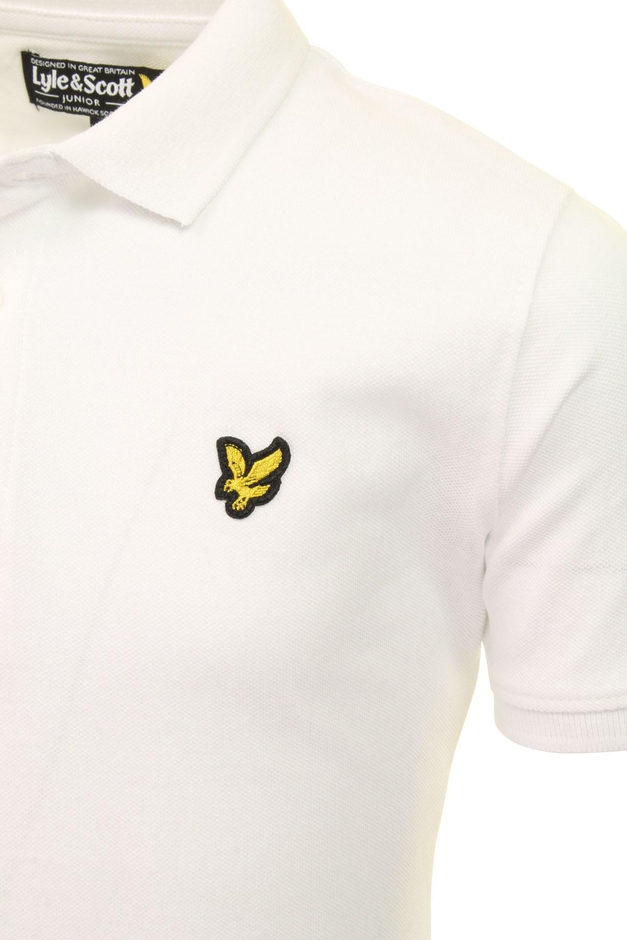 Lyle-amp-Scott-Garcons-Classique-Polo-T-Shirt miniature 5