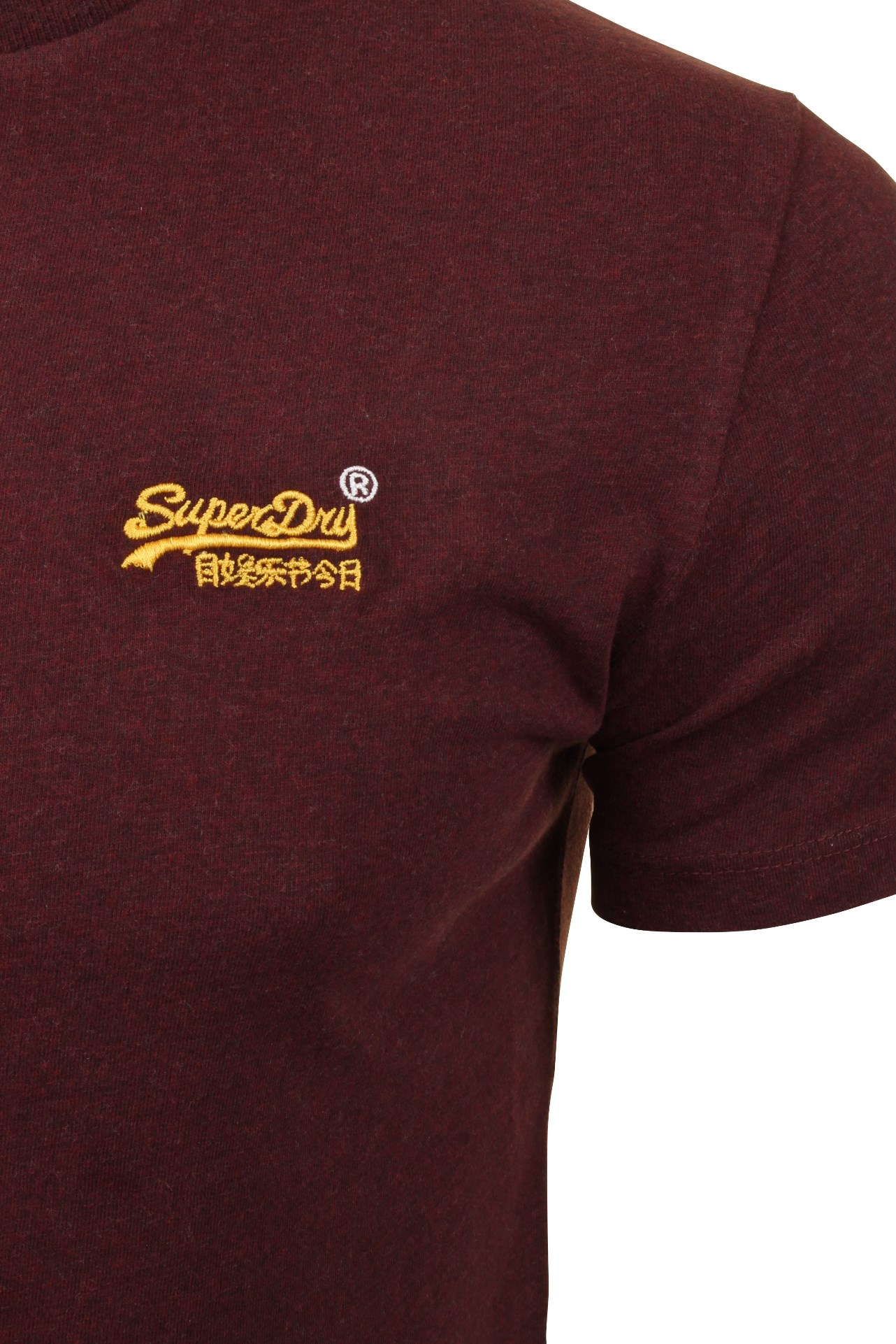 Superdry-Mens-T-Shirt-039-OL-Vintage-Embroidery-Tee-039-Short-Sleeved thumbnail 4