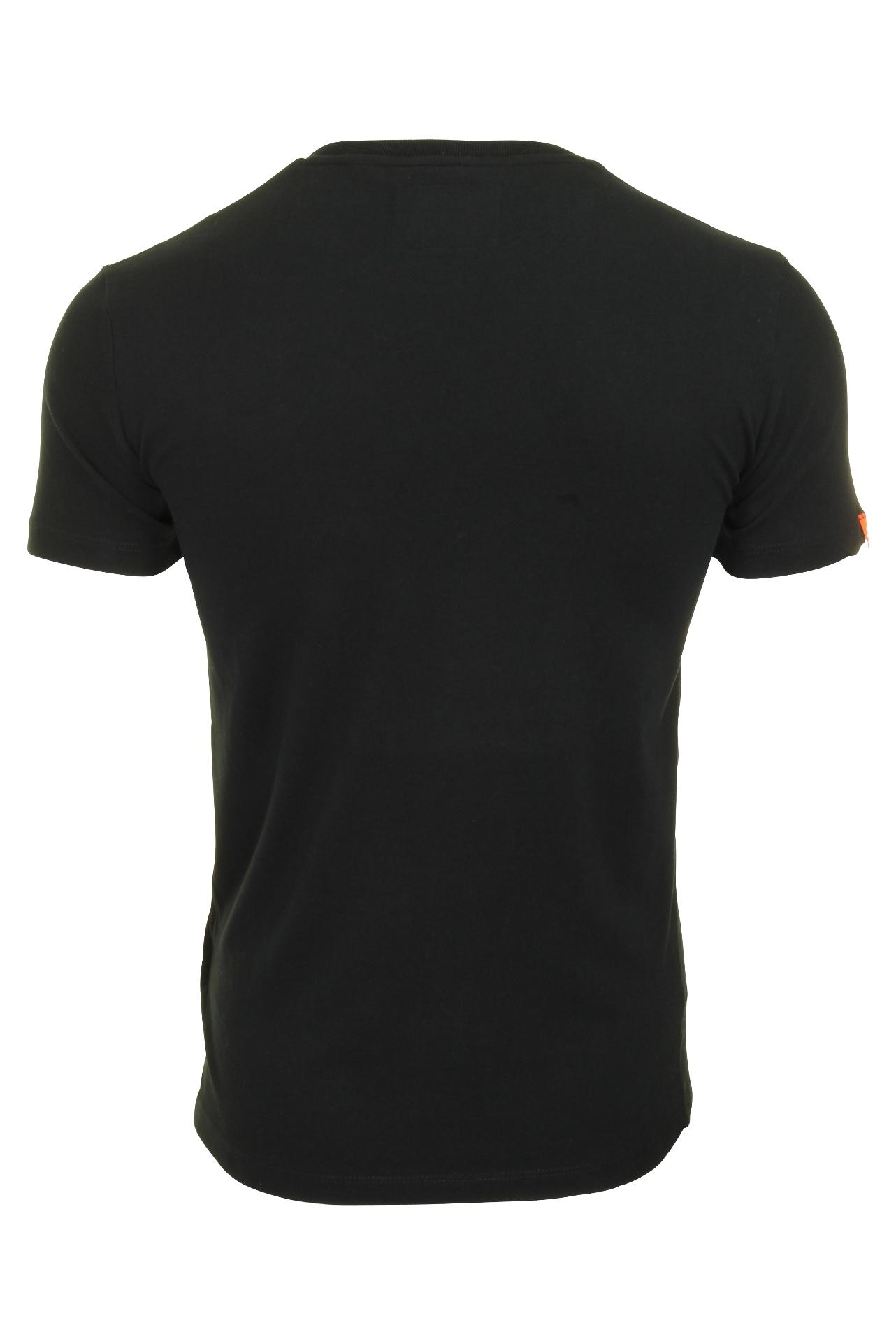 Top-Superdry-Orange-Label-Da-Uomo-039-Vintage-039-T-shirt-girocollo miniatura 5