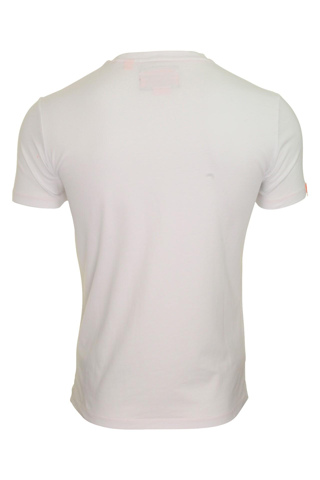 Top-Superdry-Orange-Label-Da-Uomo-039-Vintage-039-T-shirt-girocollo miniatura 14