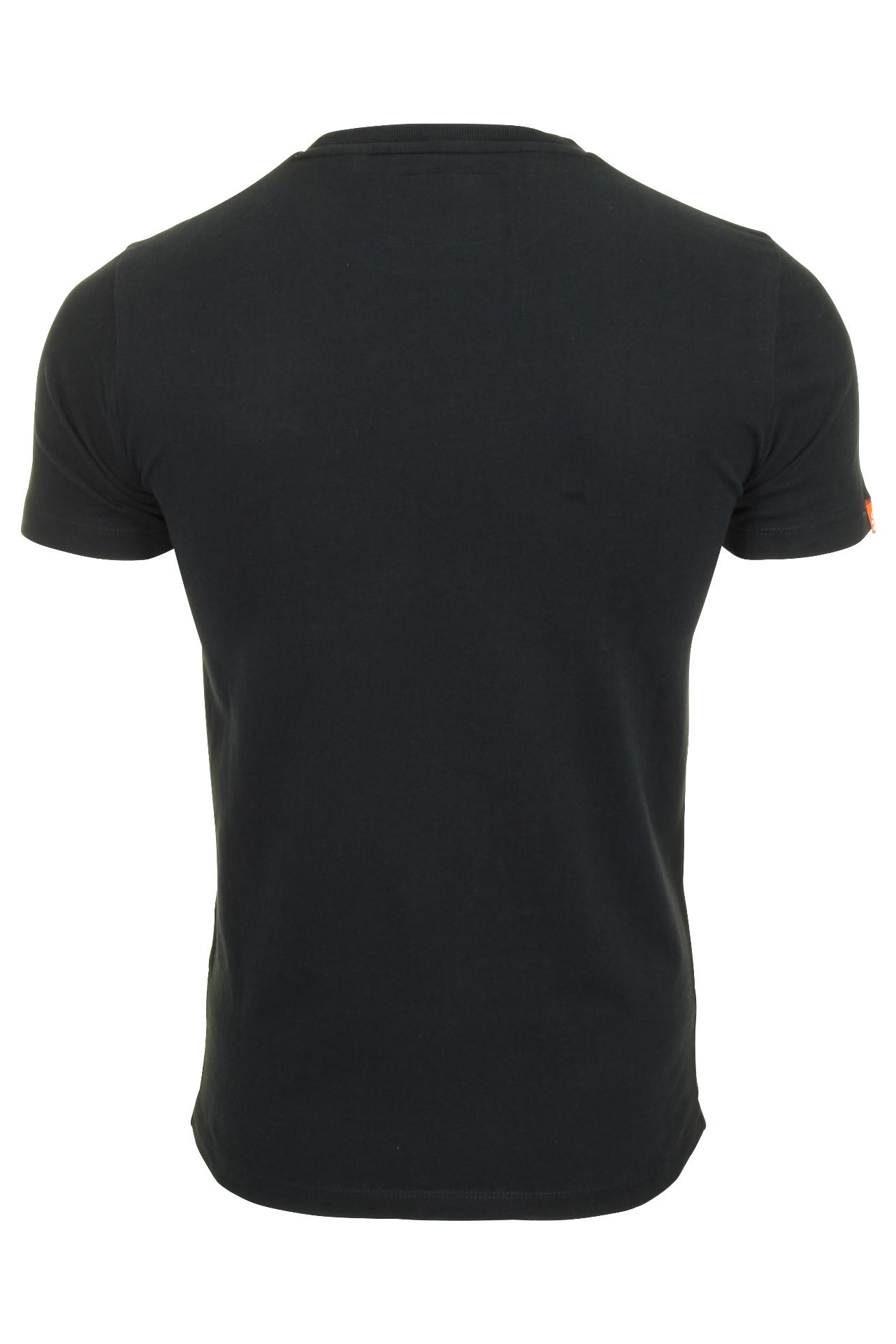 Top-Superdry-Orange-Label-Da-Uomo-039-Vintage-039-T-shirt-girocollo miniatura 8