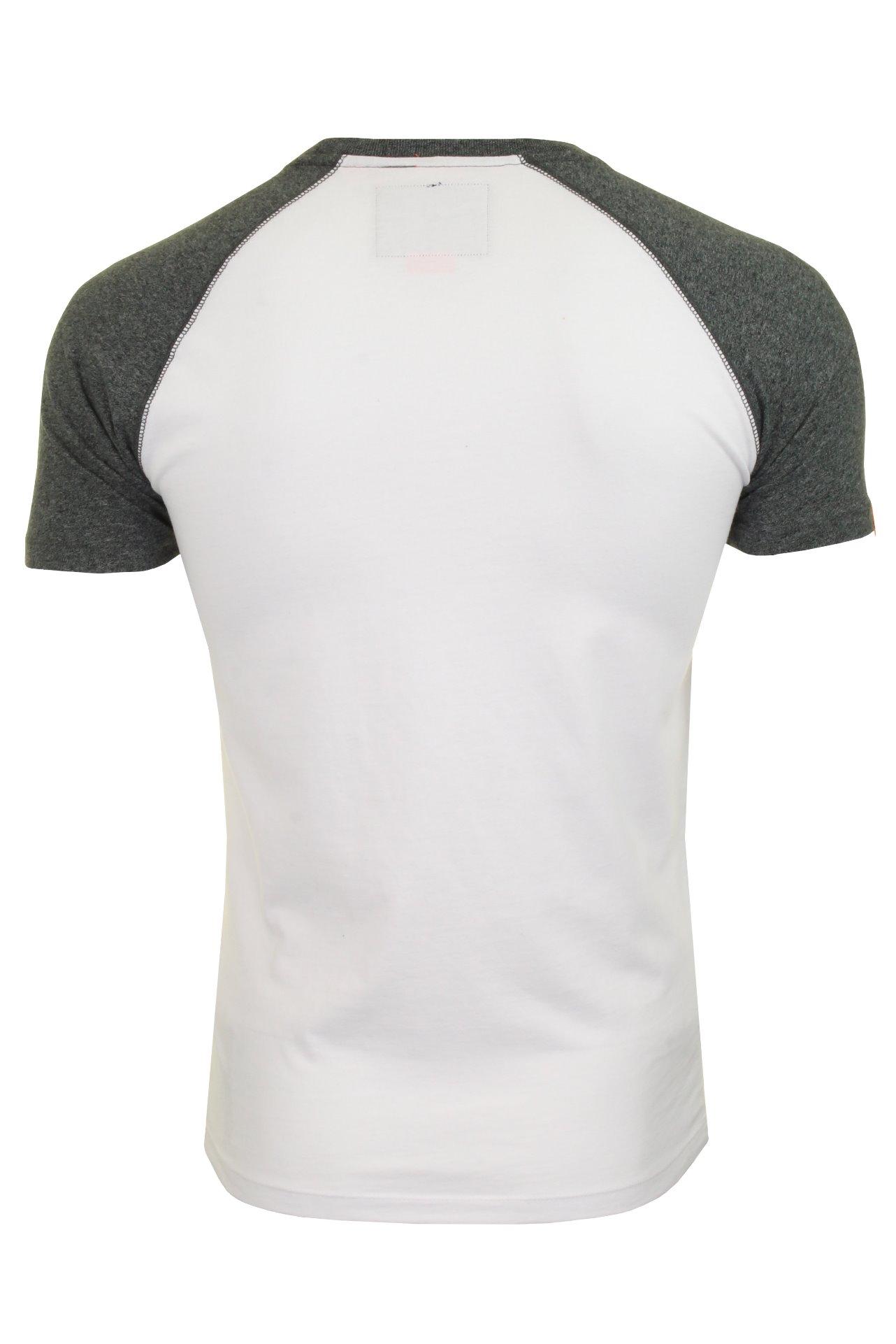 Superdry-Mens-039-Baseball-039-Raglan-Short-Sleeved-T-Shirt thumbnail 8