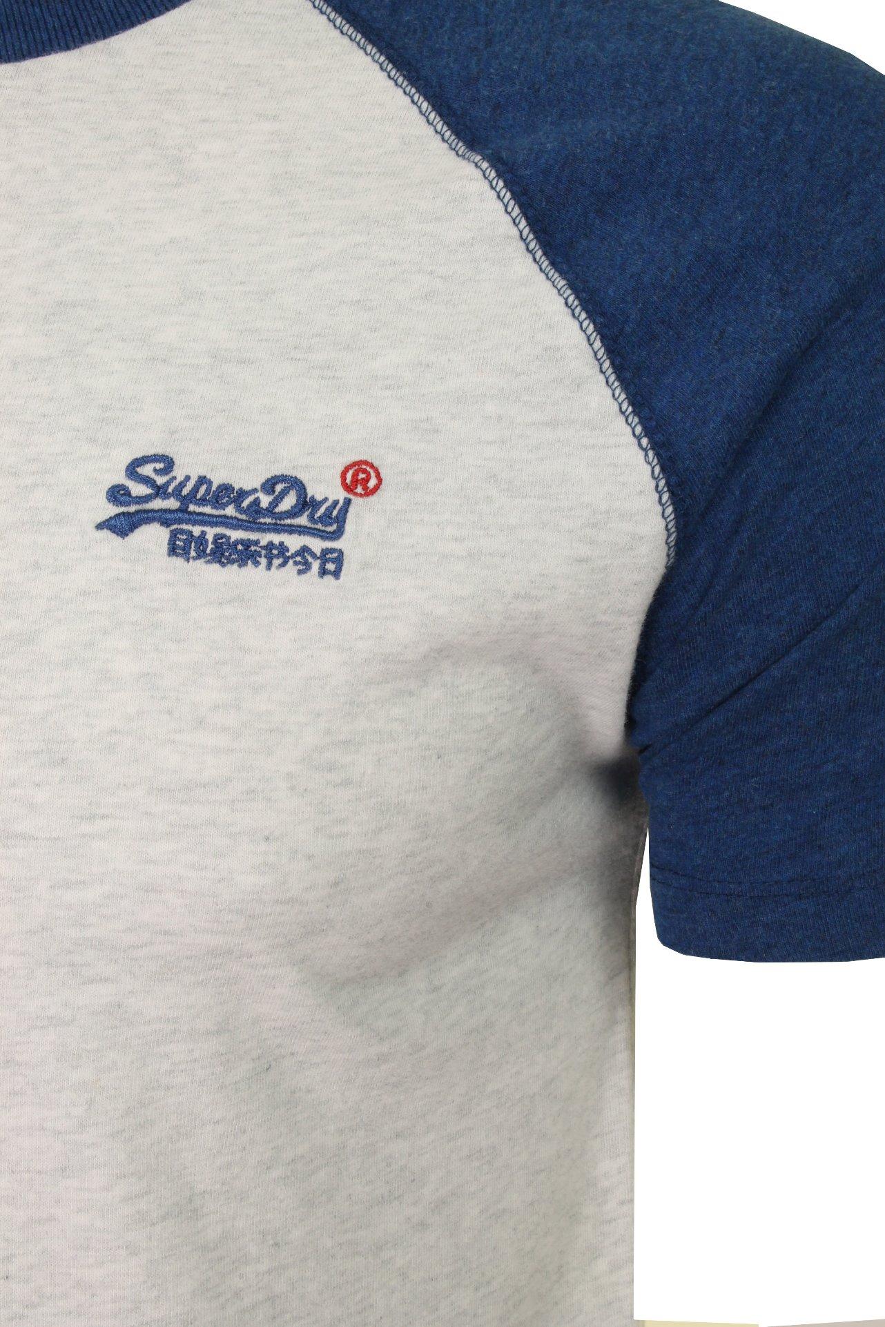 Superdry-Mens-039-Baseball-039-Raglan-Short-Sleeved-T-Shirt thumbnail 4