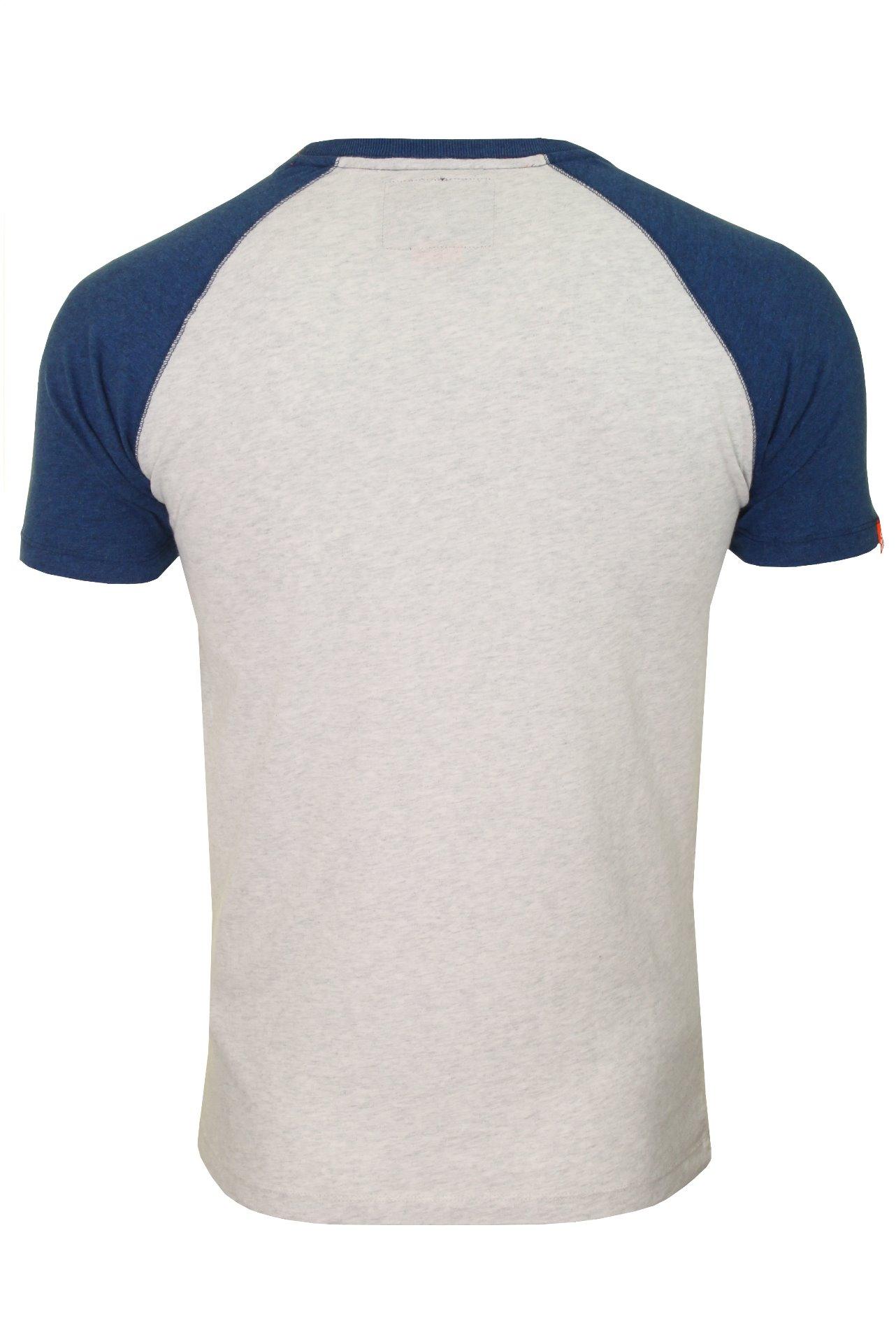 Superdry-Mens-039-Baseball-039-Raglan-Short-Sleeved-T-Shirt thumbnail 5