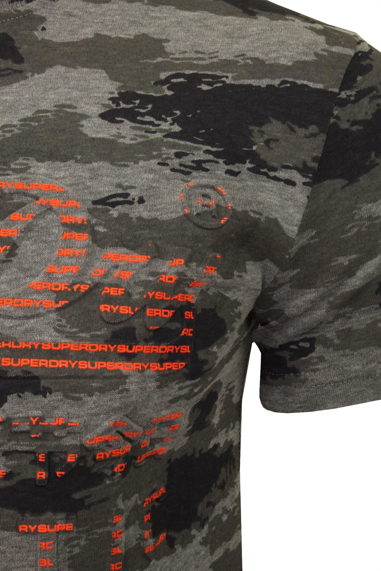 Superdry /'Authentic Camo/' Mens T-Shirt