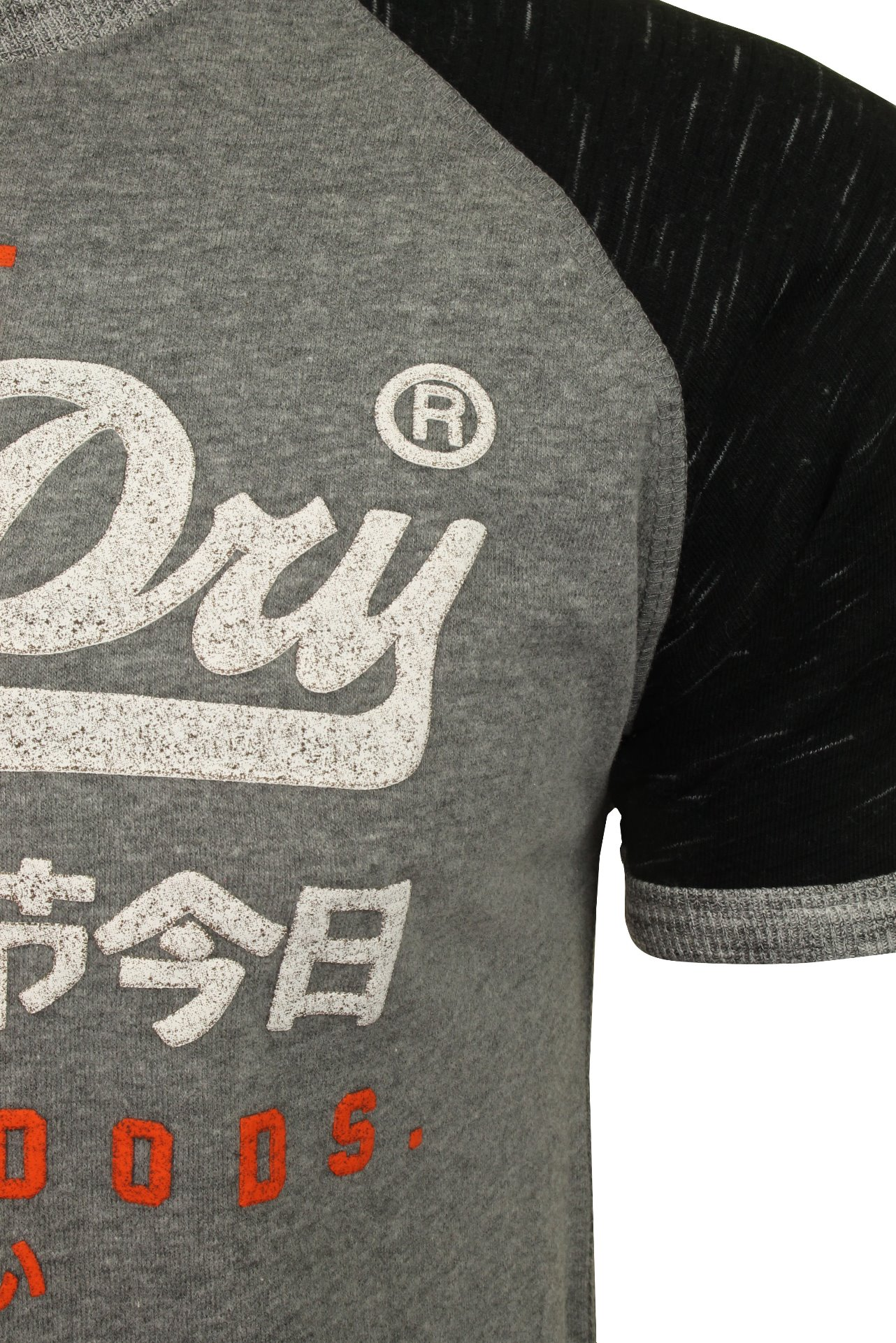 Superdry-T-shirt-homme-034-Premium-Goods-Raglan-Tee-034-a-Manches-Courtes miniature 7