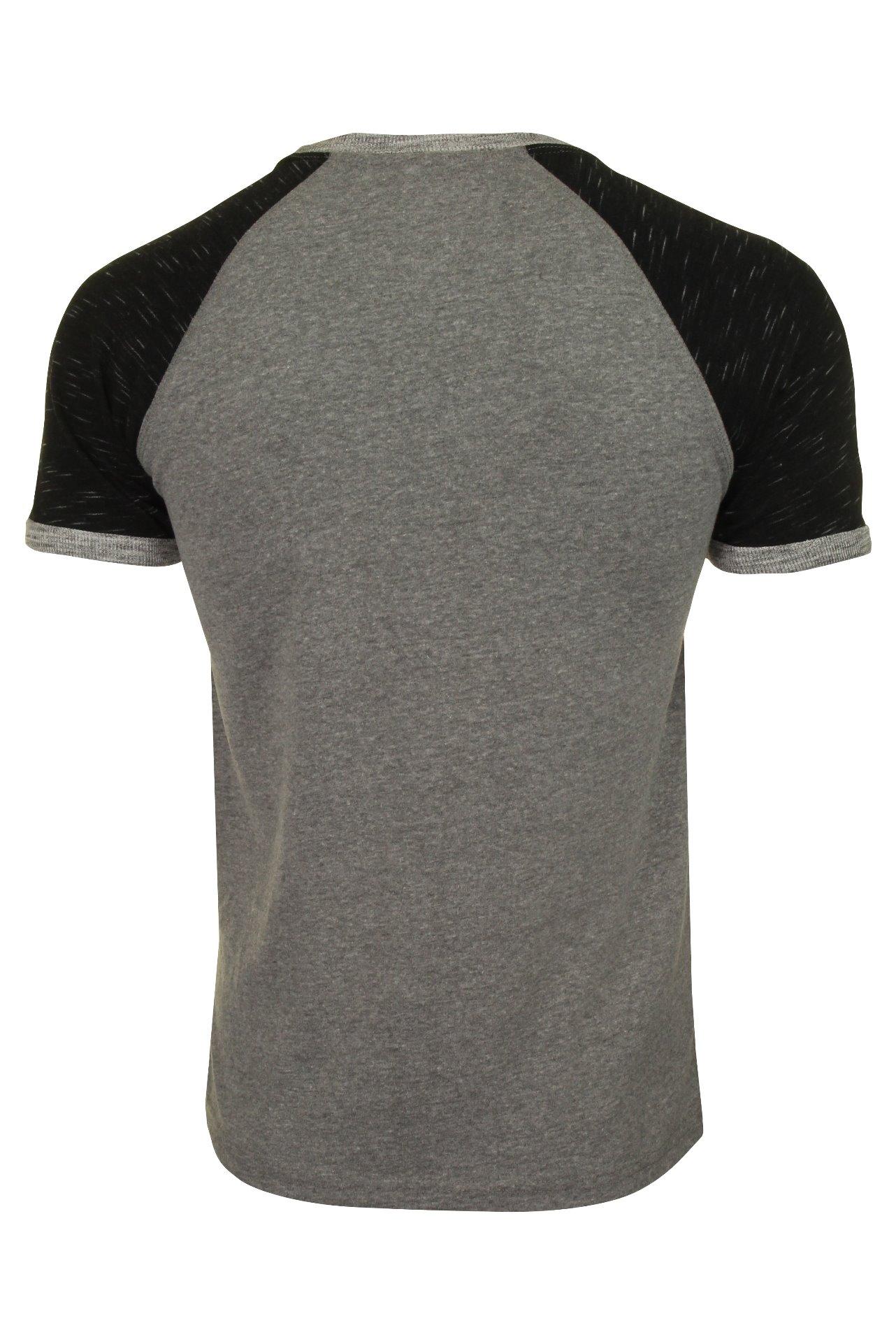 Superdry-T-shirt-homme-034-Premium-Goods-Raglan-Tee-034-a-Manches-Courtes miniature 8