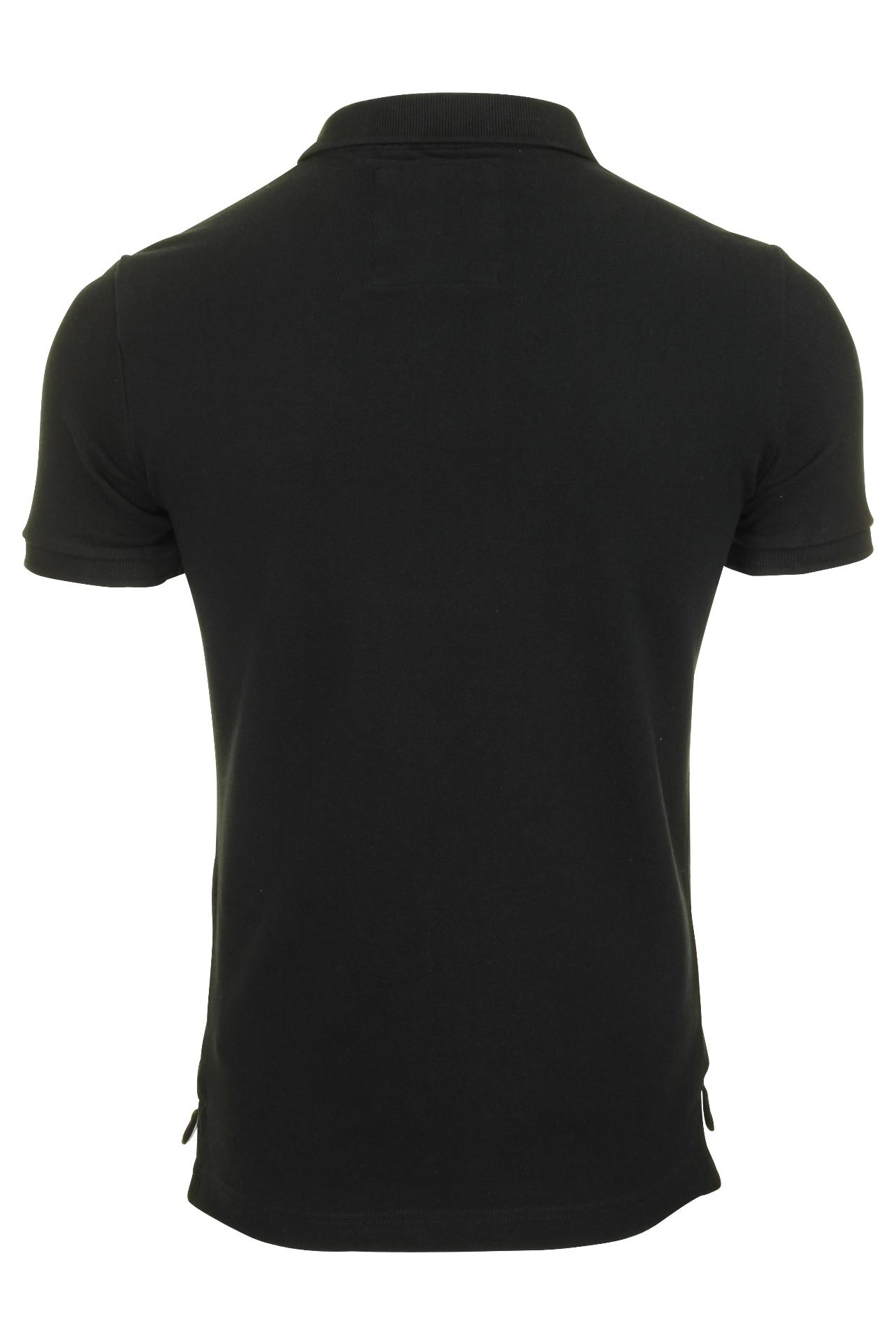 Camisa-clasica-para-hombre-039-Camiseta-Polo-Pique-039 miniatura 5