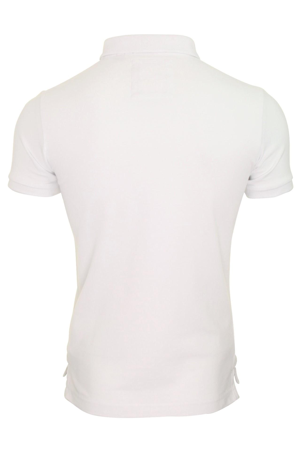 Camisa-clasica-para-hombre-039-Camiseta-Polo-Pique-039 miniatura 14
