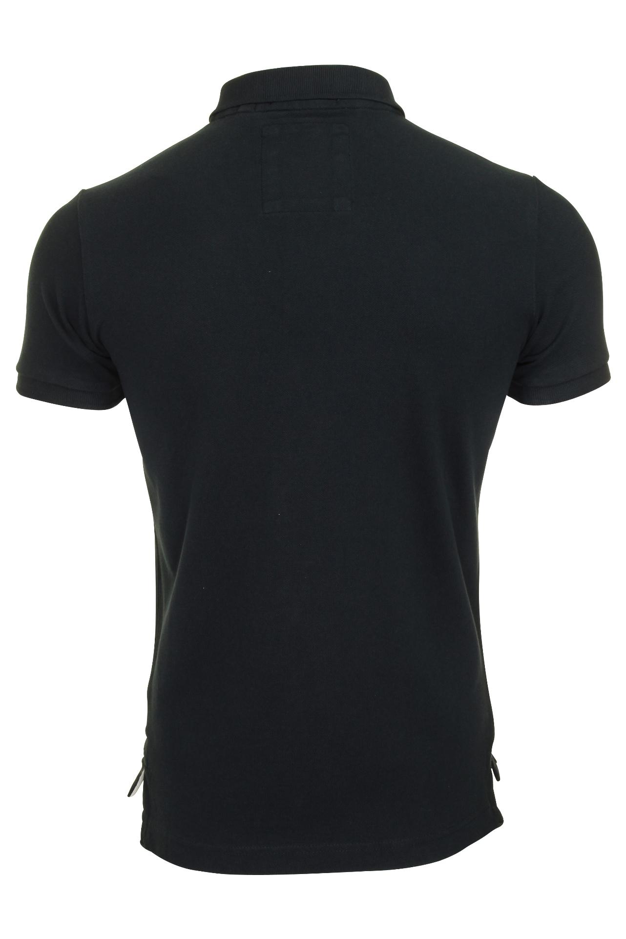 Camisa-clasica-para-hombre-039-Camiseta-Polo-Pique-039 miniatura 8