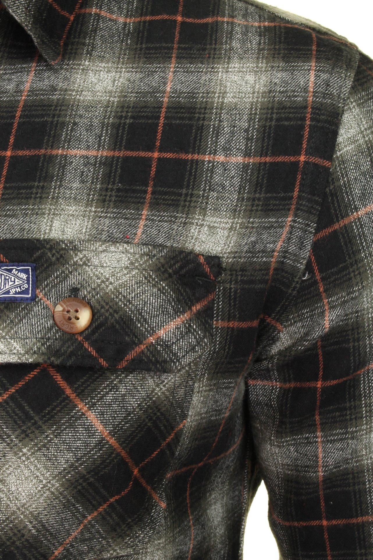 Superdry-Mens-Check-Shirt-039-Classic-Lumberjack-Shirt-039-Long-Sleeved thumbnail 4