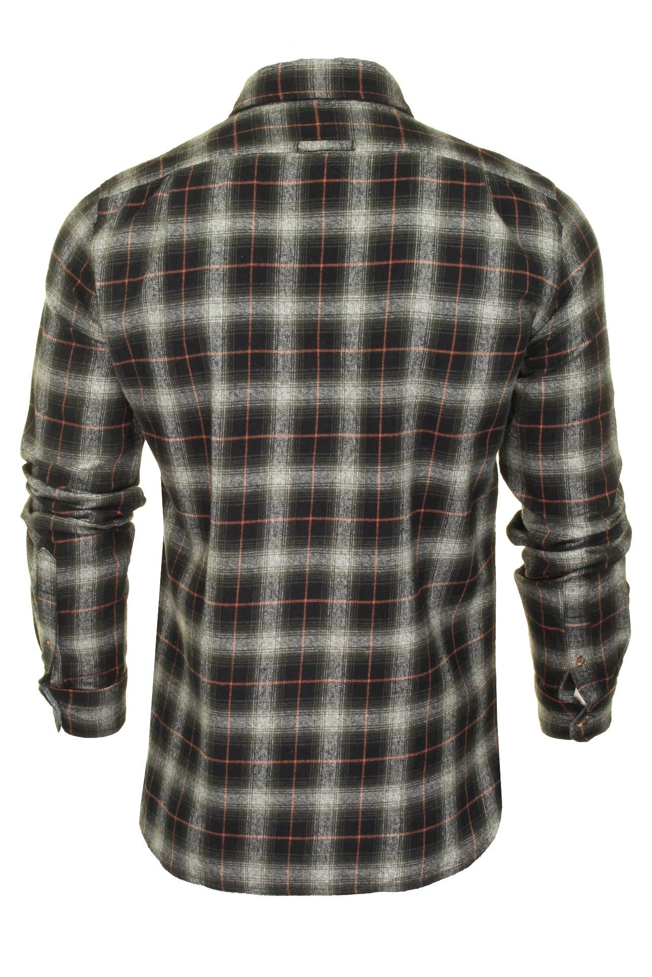 Superdry-Mens-Check-Shirt-039-Classic-Lumberjack-Shirt-039-Long-Sleeved thumbnail 5