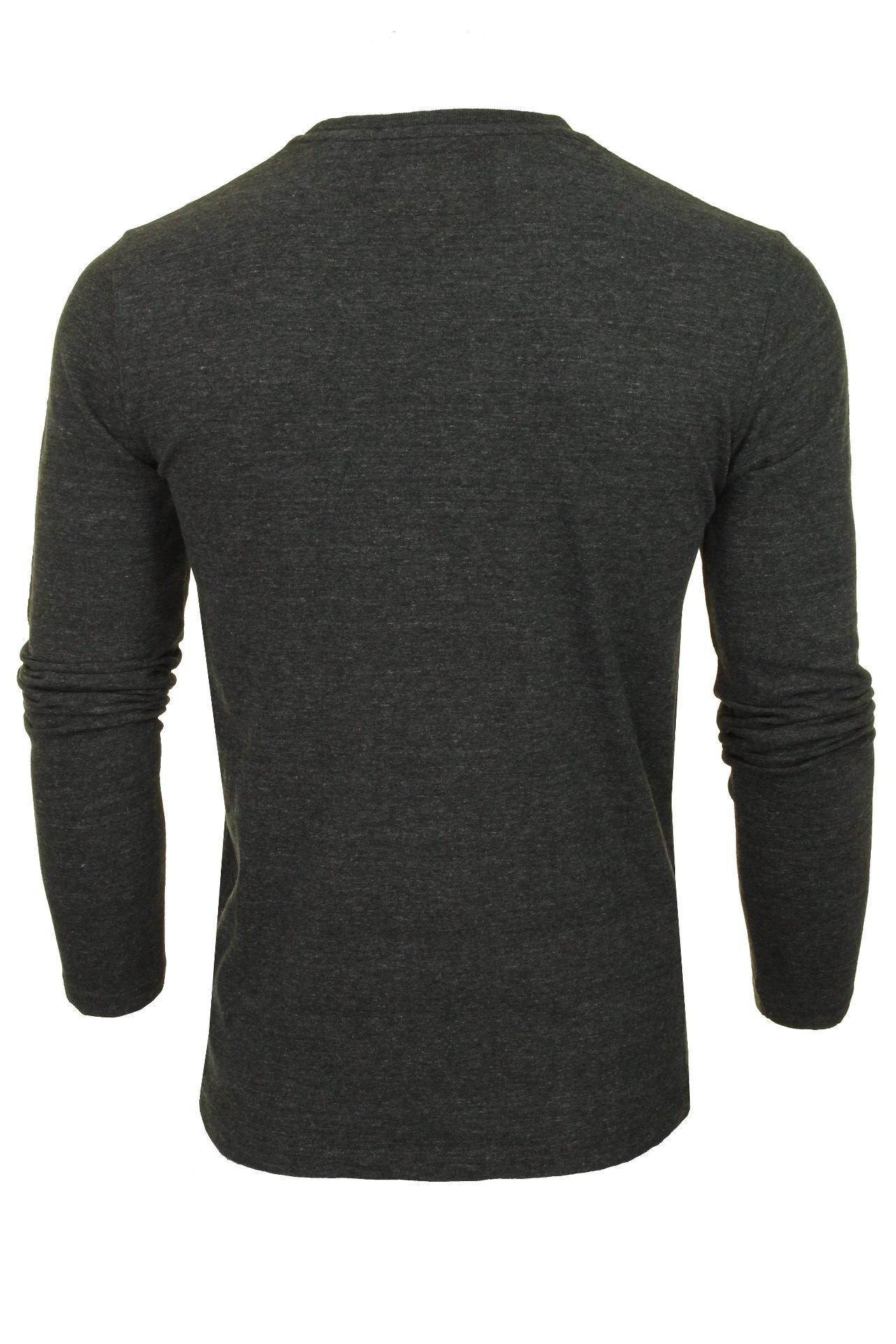 Superdry-T-shirt-homme-034-Orange-Label-Vintage-EMB-L-S-Tee-034-a-Manches-Longues miniature 4