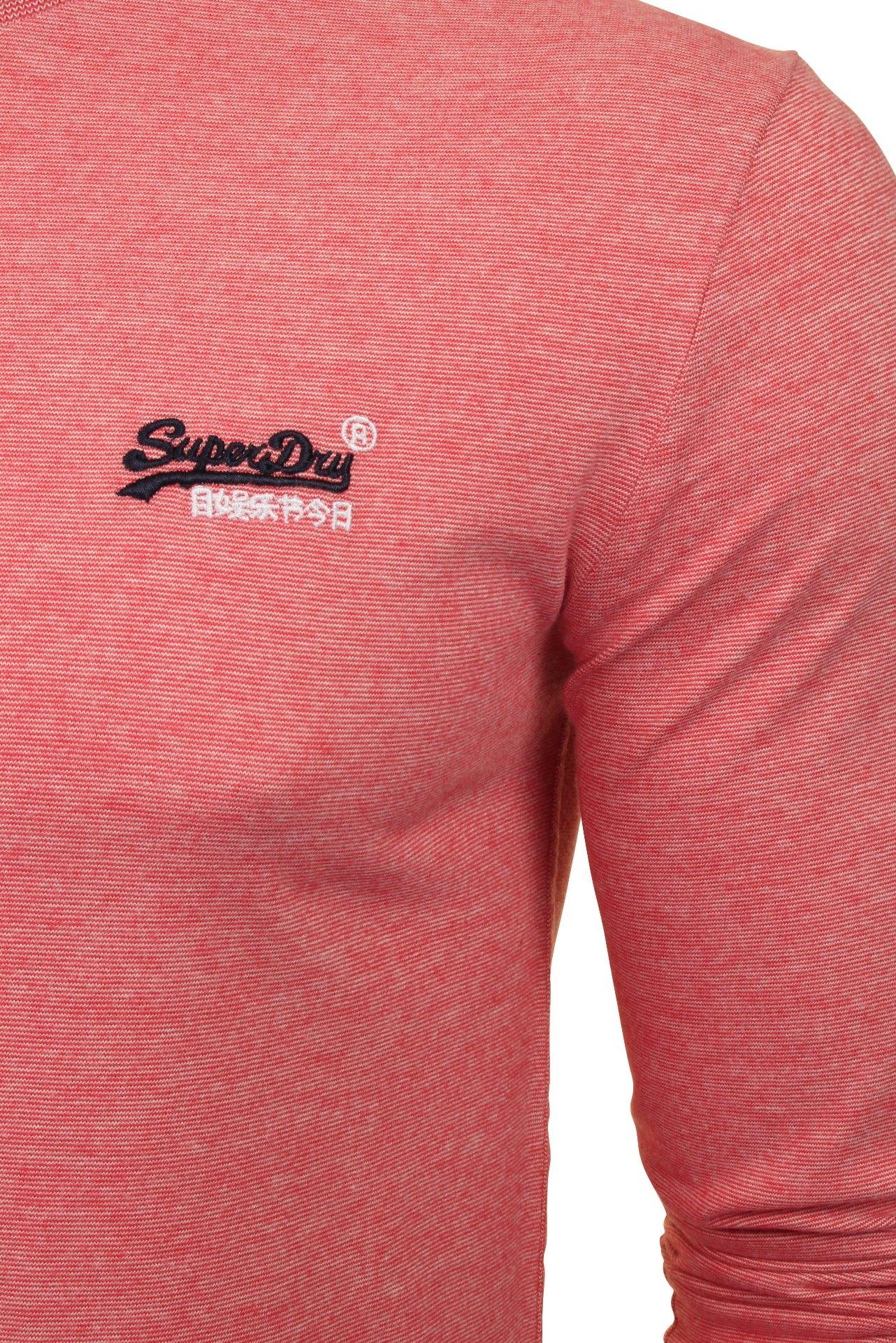 Superdry-039-Orange-Label-039-Long-Sleeved-T-Shirt thumbnail 7