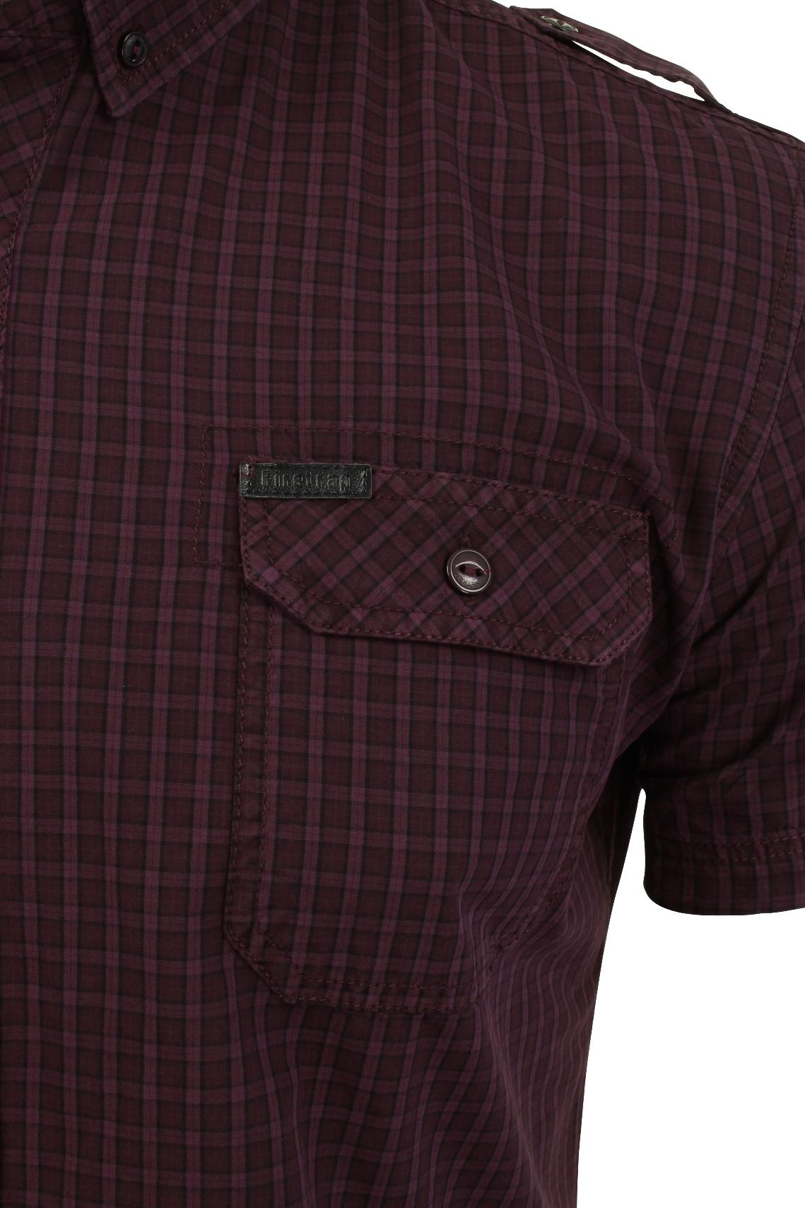 Mens-Short-Sleeved-Shirt-by-Firetrap thumbnail 22