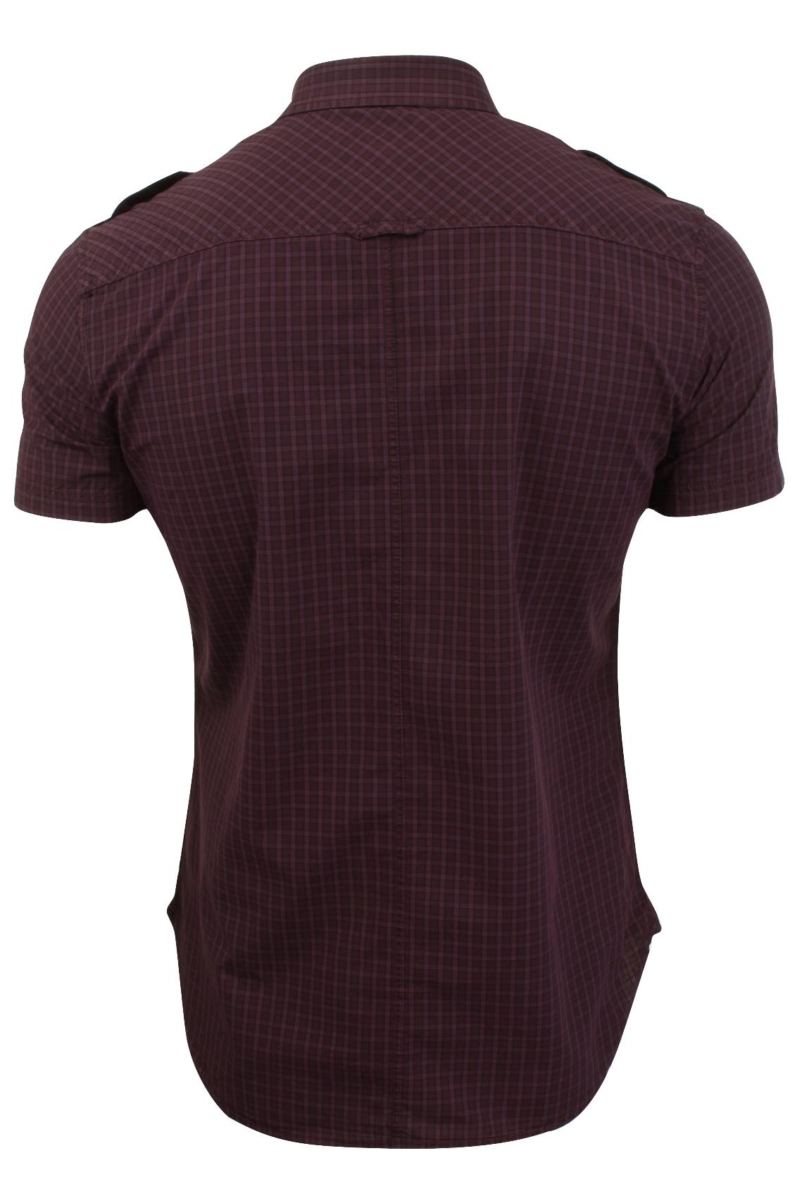 Mens-Short-Sleeved-Shirt-by-Firetrap thumbnail 23