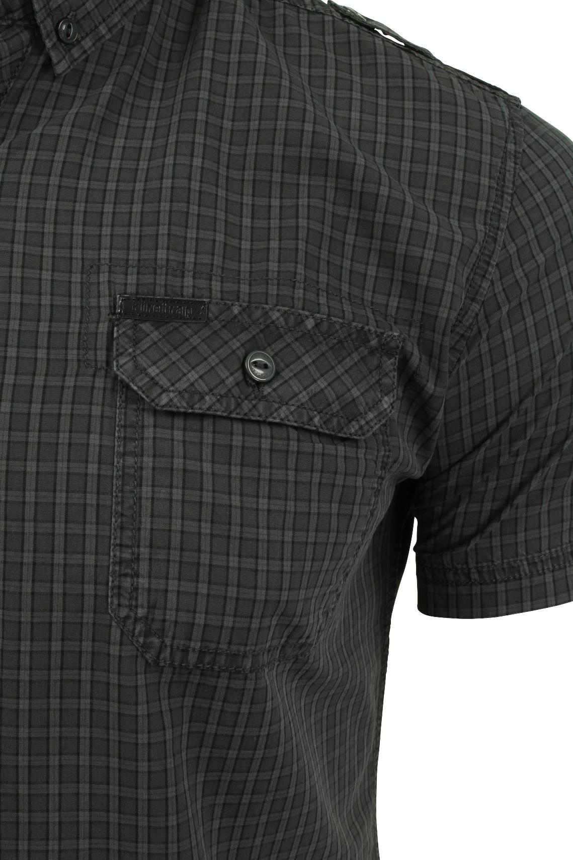 Mens-Short-Sleeved-Shirt-by-Firetrap thumbnail 28