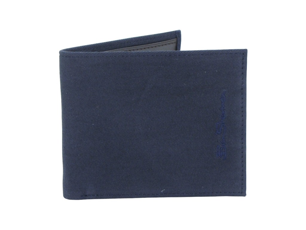 ben sherman fabric billfold wallet