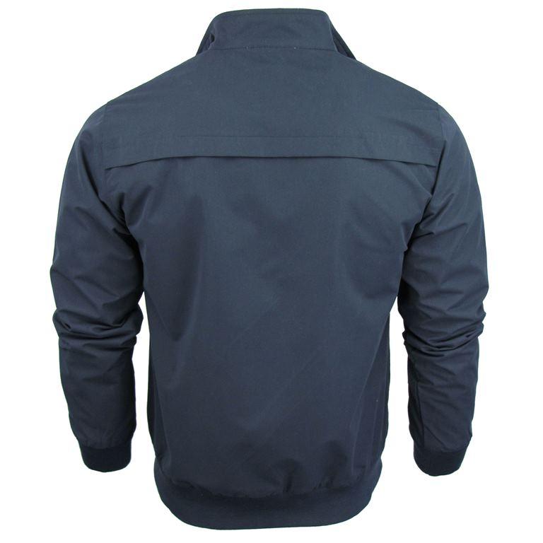 Soul Star Mens Retro Harrington Jacket// Coat /'Hayes/' Tartan Checked Lined