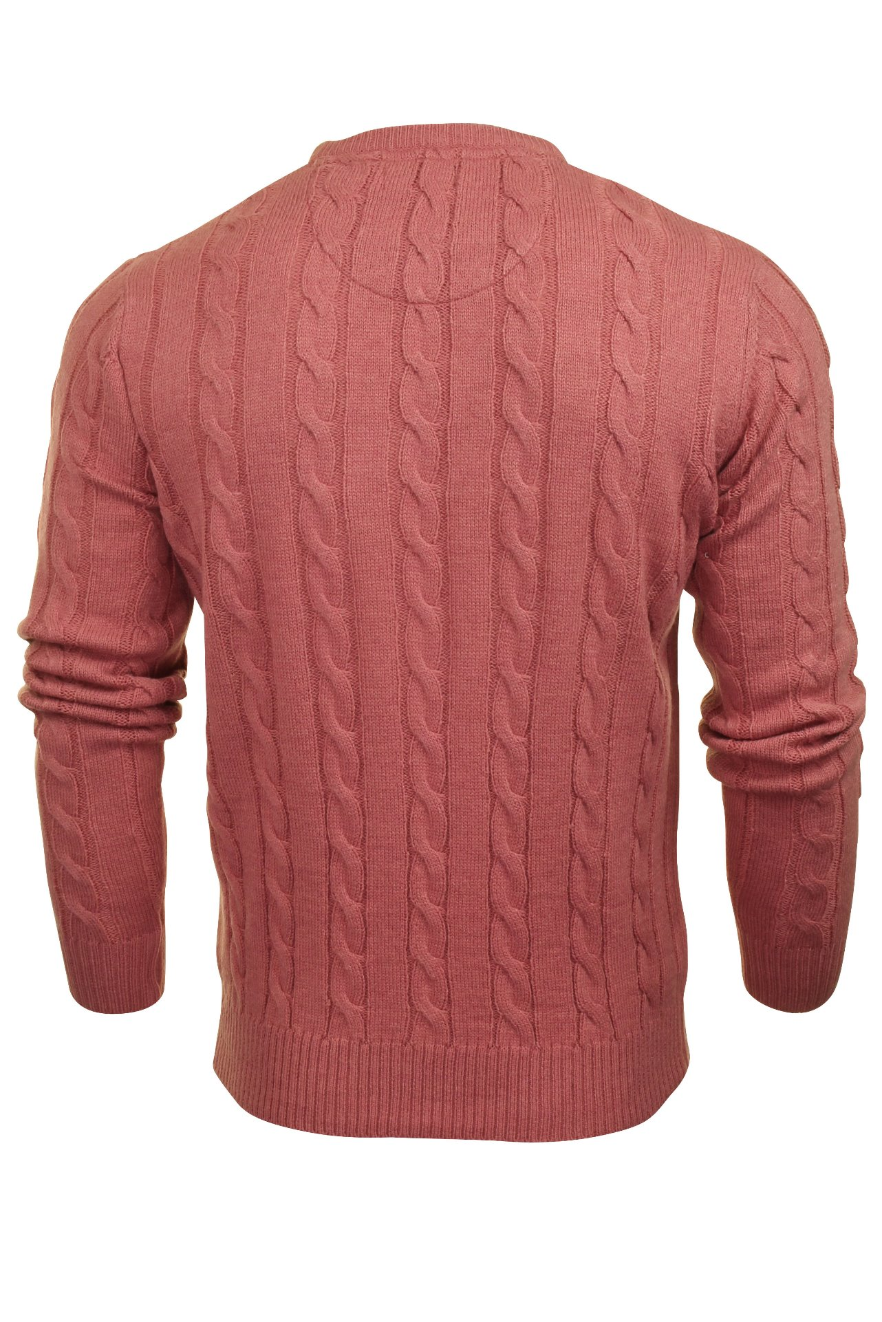 Brave-Soul-039-Maoism-039-Mens-Cable-Knit-Jumper thumbnail 14