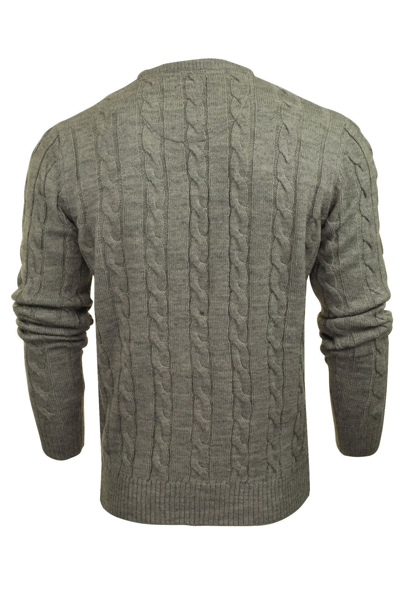 Brave-Soul-039-Maoism-039-Mens-Cable-Knit-Jumper thumbnail 17