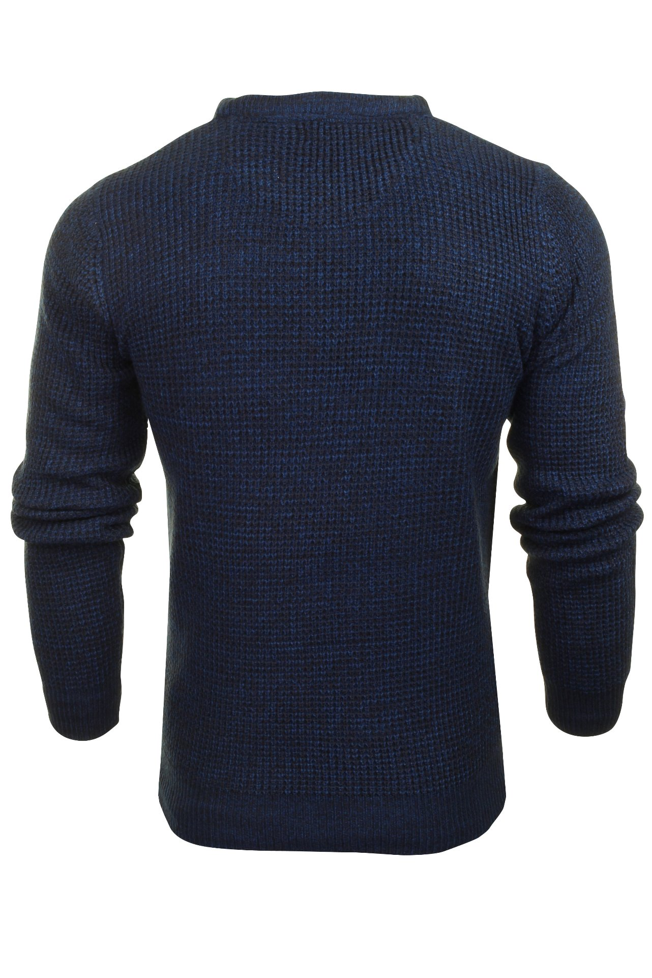 Brave-Soul-039-Maoism-039-Mens-Cable-Knit-Jumper thumbnail 11